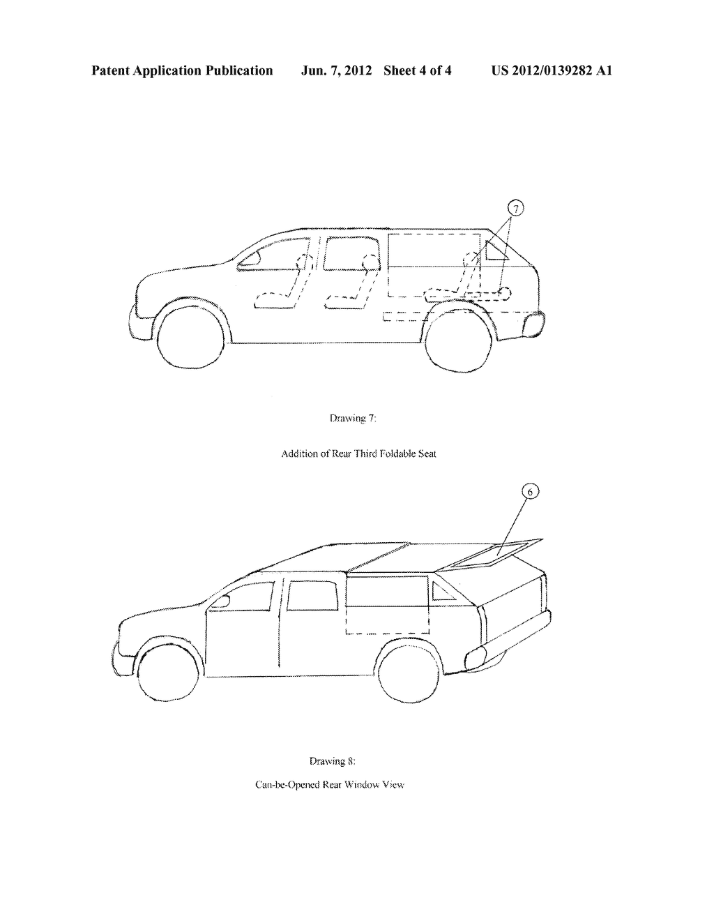 Combination Vehicle of Pickup and SUV - diagram, schematic, and image 05