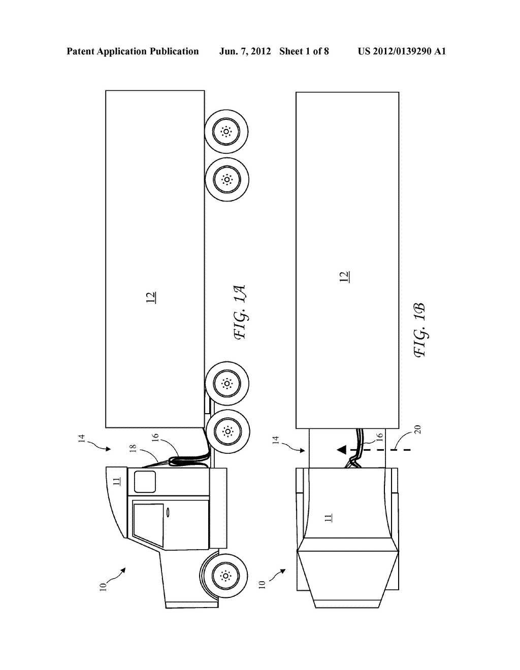 semi tractor-trailer diagram