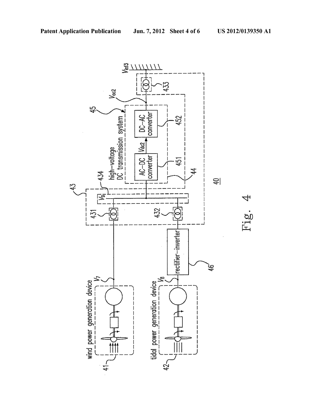 System And Method Of Integrating Wind Power Tidal Energy Diagram Schematic Image 05