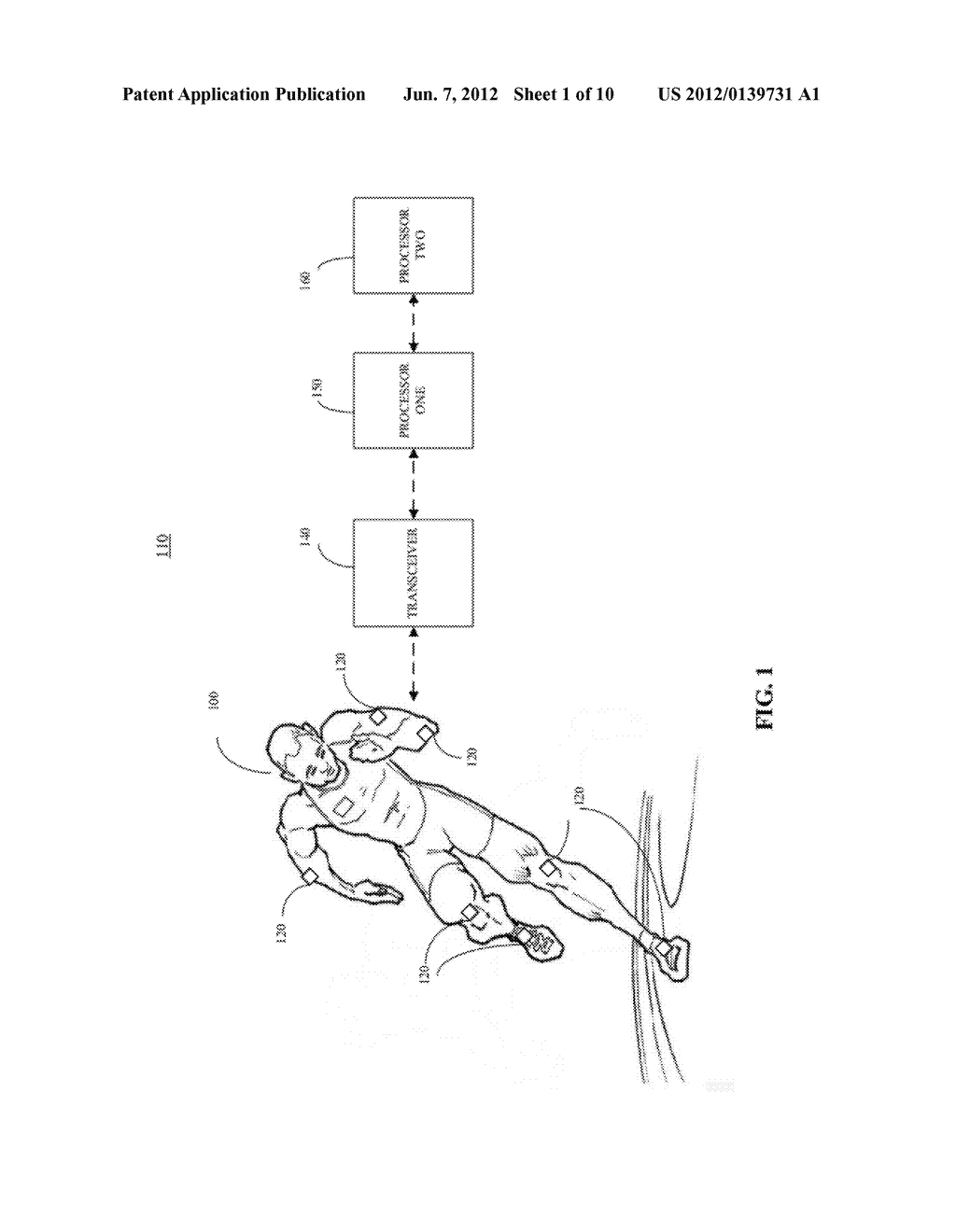 SYSTEM AND METHOD FOR WIRELESS MONITORING OF SPORTS ACTIVITIES - diagram, schematic, and image 02