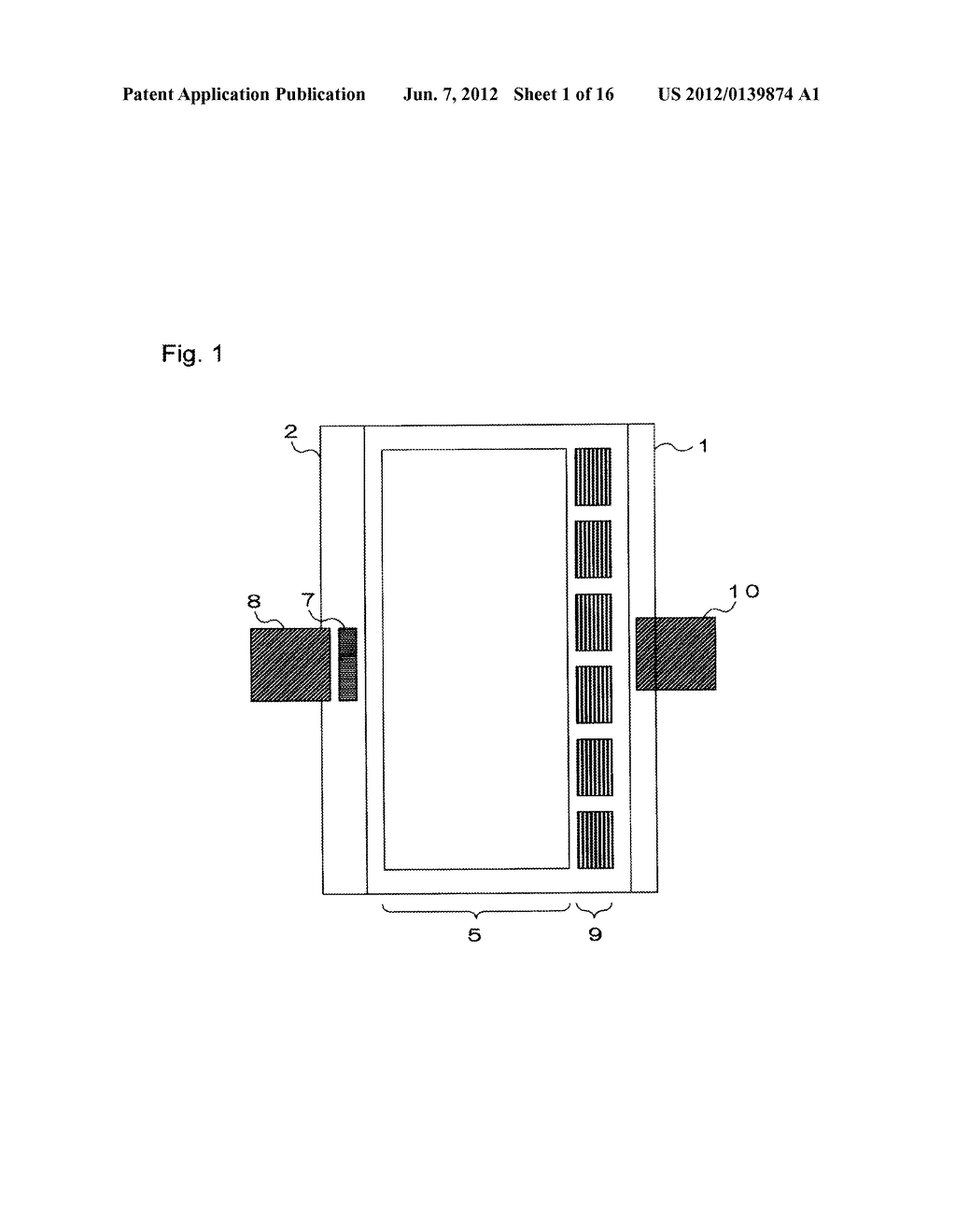 INPUT-FUNCTION INTEGRATED LIQUID CRYSTAL DISPLAY DEVICE AND METHOD FOR     MANUFACTURING THE SAME - diagram, schematic, and image 02