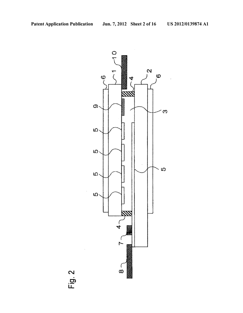 INPUT-FUNCTION INTEGRATED LIQUID CRYSTAL DISPLAY DEVICE AND METHOD FOR     MANUFACTURING THE SAME - diagram, schematic, and image 03