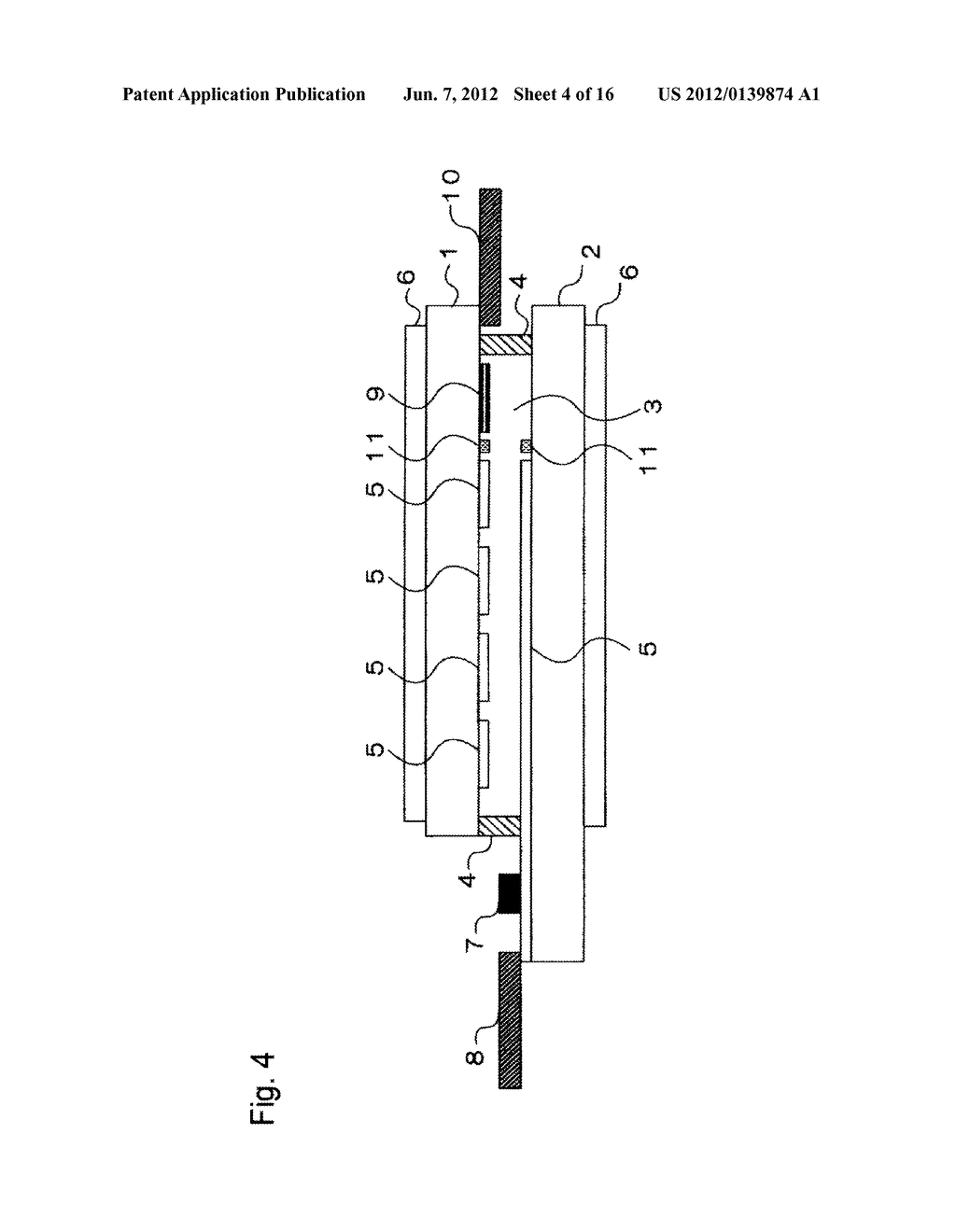 INPUT-FUNCTION INTEGRATED LIQUID CRYSTAL DISPLAY DEVICE AND METHOD FOR     MANUFACTURING THE SAME - diagram, schematic, and image 05