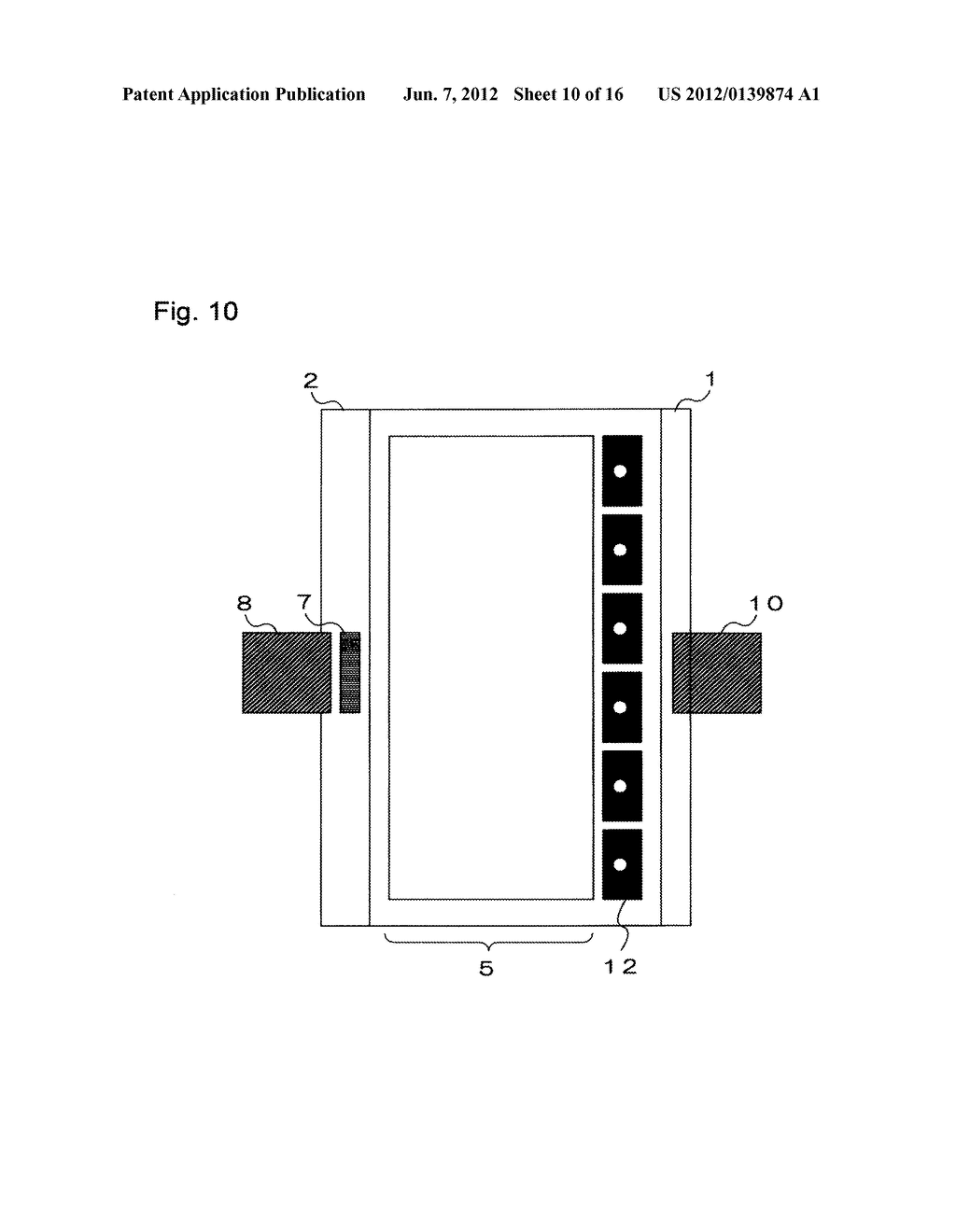 INPUT-FUNCTION INTEGRATED LIQUID CRYSTAL DISPLAY DEVICE AND METHOD FOR     MANUFACTURING THE SAME - diagram, schematic, and image 11