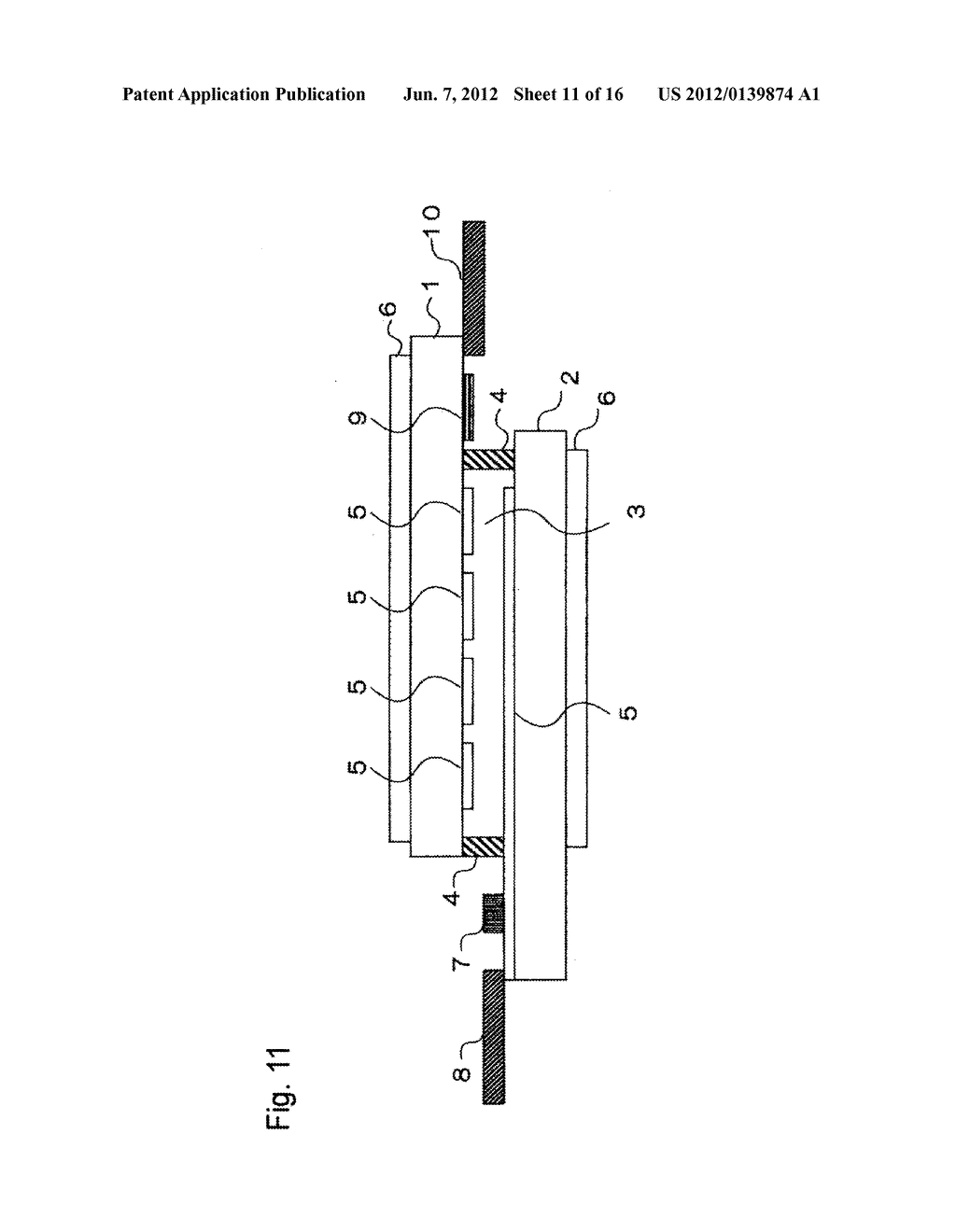 INPUT-FUNCTION INTEGRATED LIQUID CRYSTAL DISPLAY DEVICE AND METHOD FOR     MANUFACTURING THE SAME - diagram, schematic, and image 12