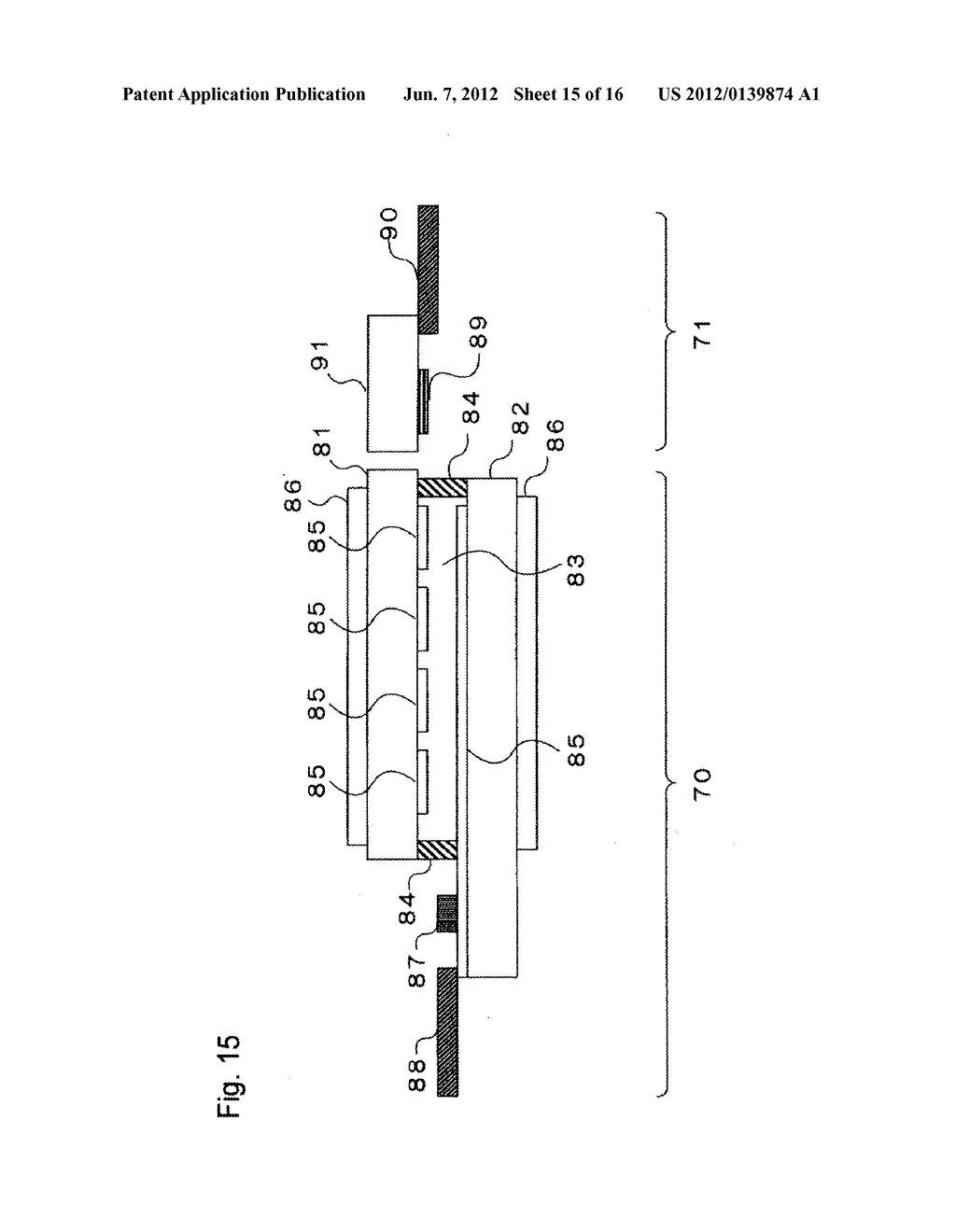 INPUT-FUNCTION INTEGRATED LIQUID CRYSTAL DISPLAY DEVICE AND METHOD FOR     MANUFACTURING THE SAME - diagram, schematic, and image 16