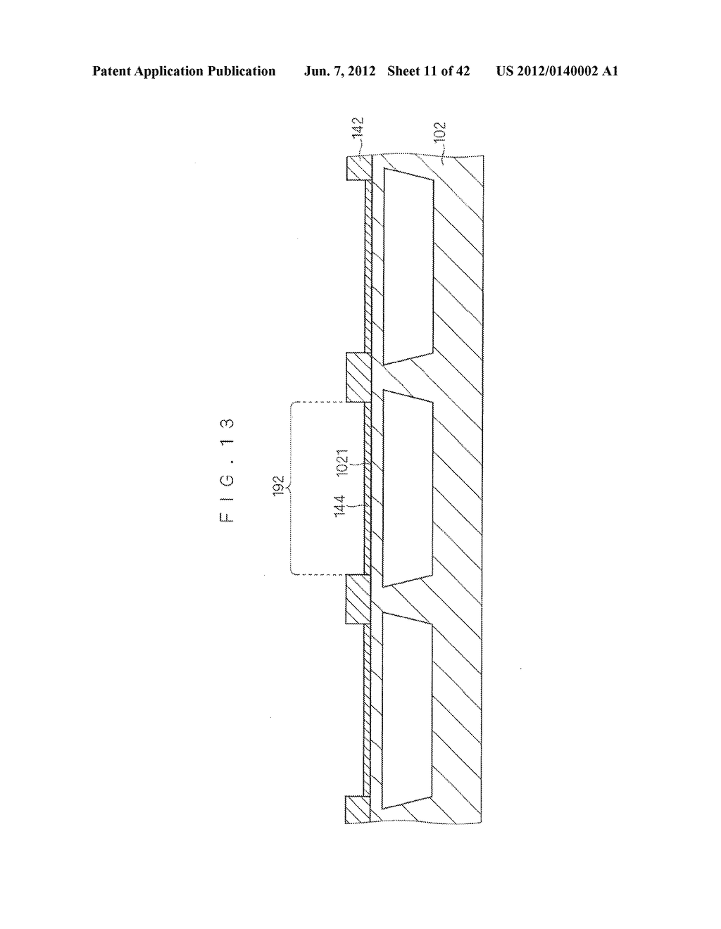 DROPLET DISCHARGE DEVICE AND METHOD OF MANUFACTURING DROPLET DISCHARGE     DEVICE - diagram, schematic, and image 12