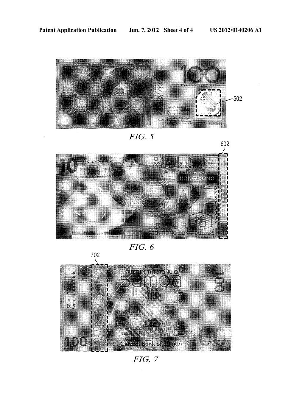 SYSTEM AND METHOD FOR THE ULTRASONIC DETECTION OF TRANSPARENT WINDOW     SECURITY FEATURES IN BANK NOTES - diagram, schematic, and image 05