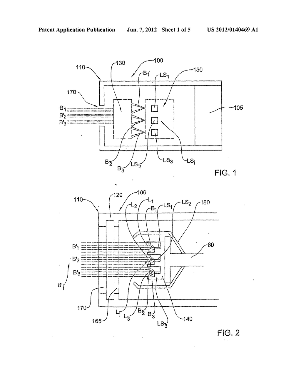 OPTICAL PROJECTION SYSTEM AND METHOD FOR A COOLED LIGHT SOURCE - diagram, schematic, and image 02