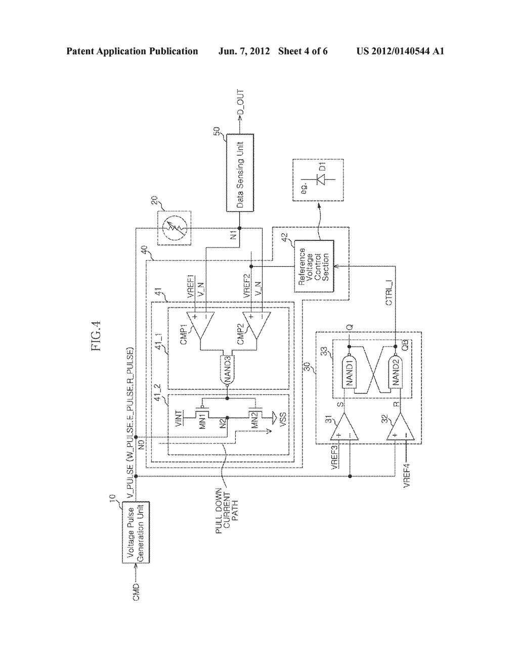 SEMICONDUCTOR MEMORY APPARATUS AND METHOD OF DRIVING THE SAME - diagram, schematic, and image 05