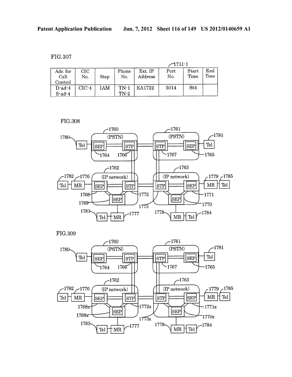 TERMINAL-TO-TERMINAL COMMUNICATION CONNECTION CONTROL METHOD USING IP     TRANSFER NETWORK - diagram, schematic, and image 117