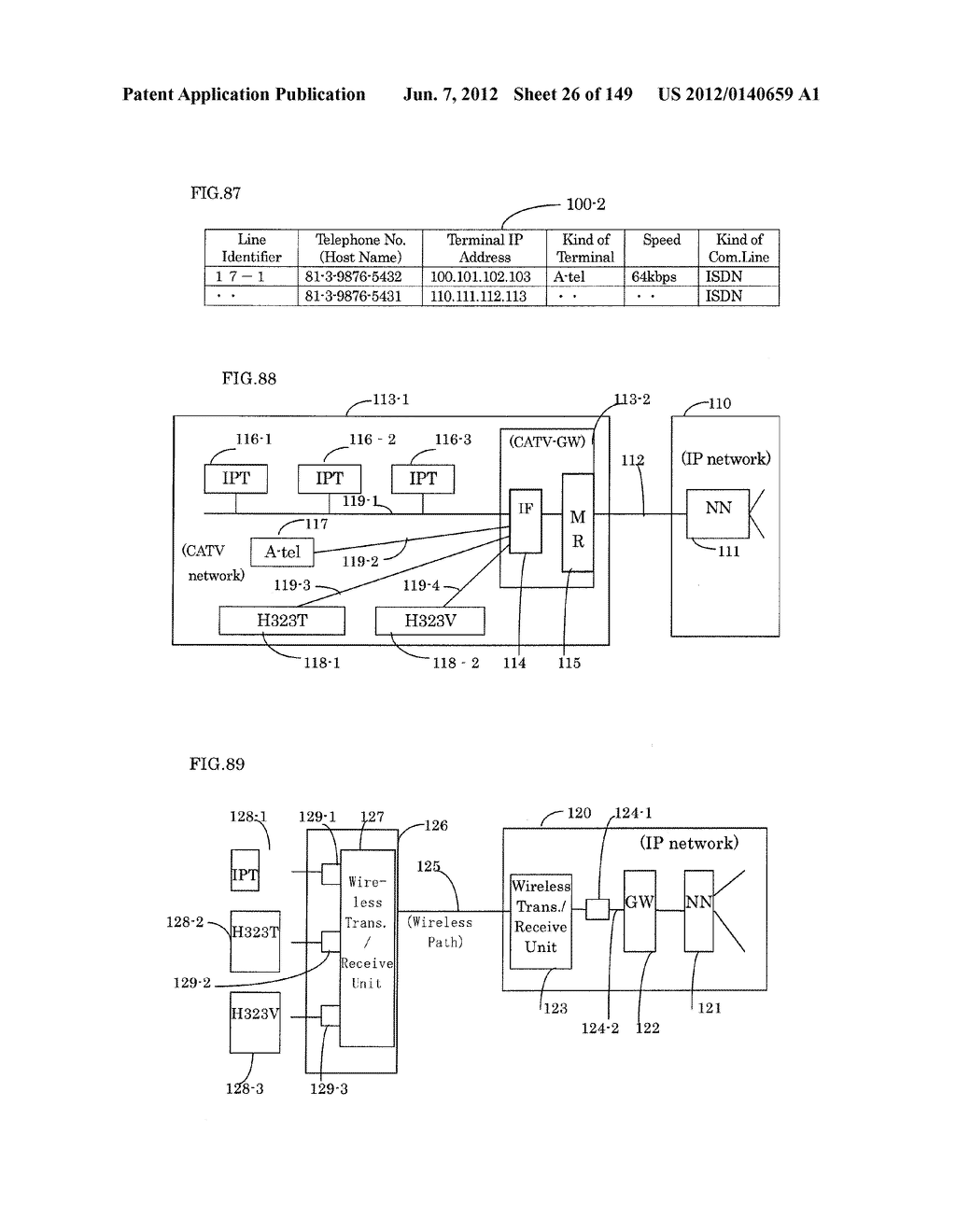 TERMINAL-TO-TERMINAL COMMUNICATION CONNECTION CONTROL METHOD USING IP     TRANSFER NETWORK - diagram, schematic, and image 27