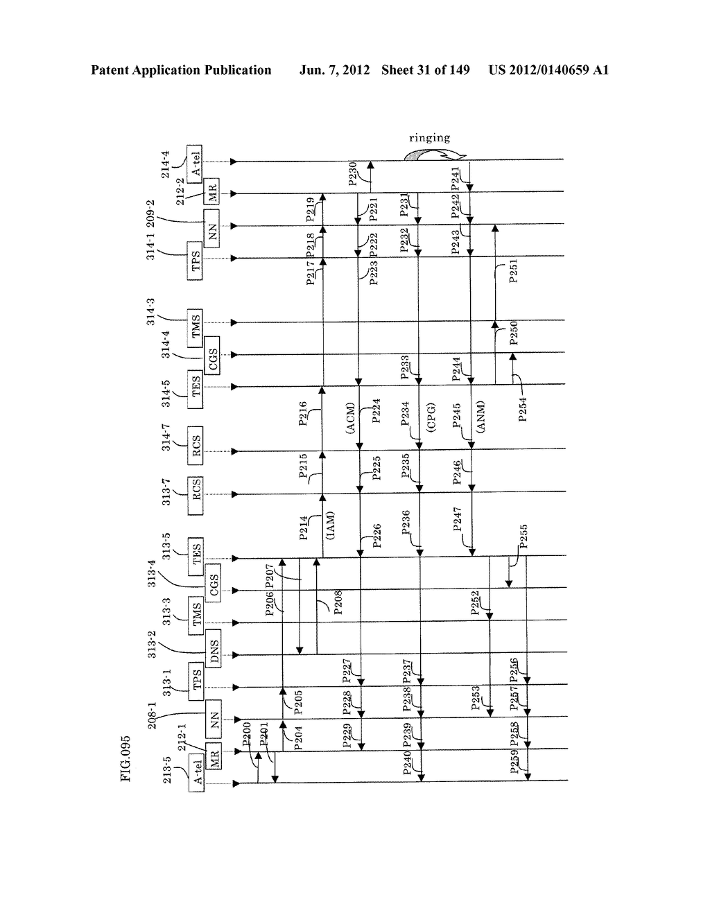 TERMINAL-TO-TERMINAL COMMUNICATION CONNECTION CONTROL METHOD USING IP     TRANSFER NETWORK - diagram, schematic, and image 32