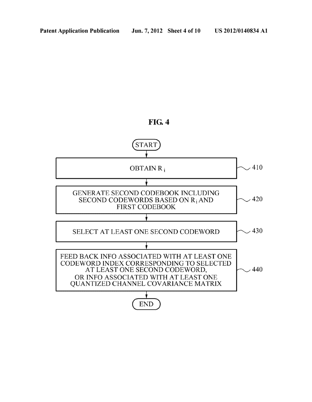 METHOD OF GENERATING ADAPTIVE CODEBOOK AND MULTIPLE INPUT MULTIPLE OUTPUT     COMMUNICATION SYSTEM USING THE ADAPTIVE CODEBOOK - diagram, schematic, and image 05
