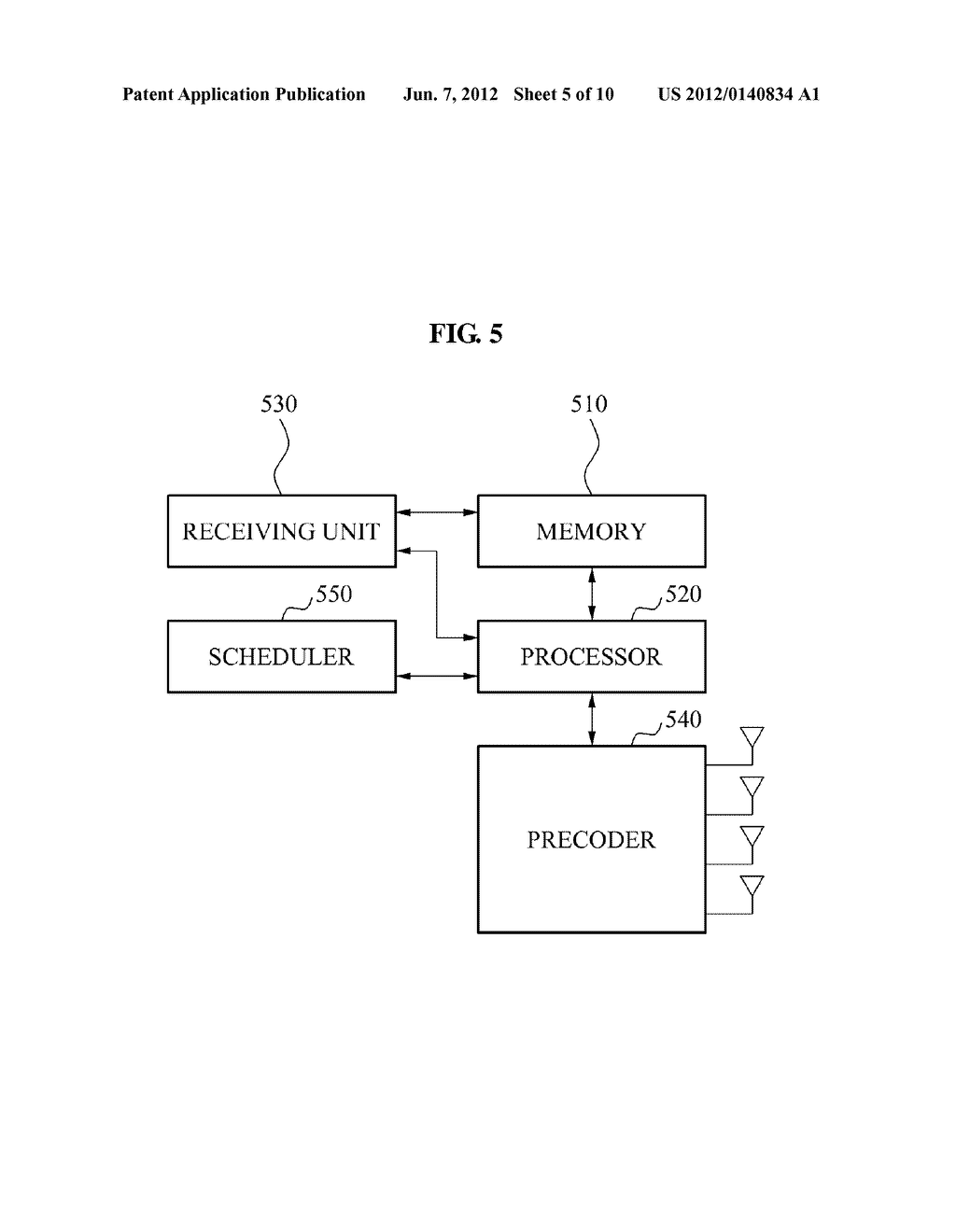 METHOD OF GENERATING ADAPTIVE CODEBOOK AND MULTIPLE INPUT MULTIPLE OUTPUT     COMMUNICATION SYSTEM USING THE ADAPTIVE CODEBOOK - diagram, schematic, and image 06