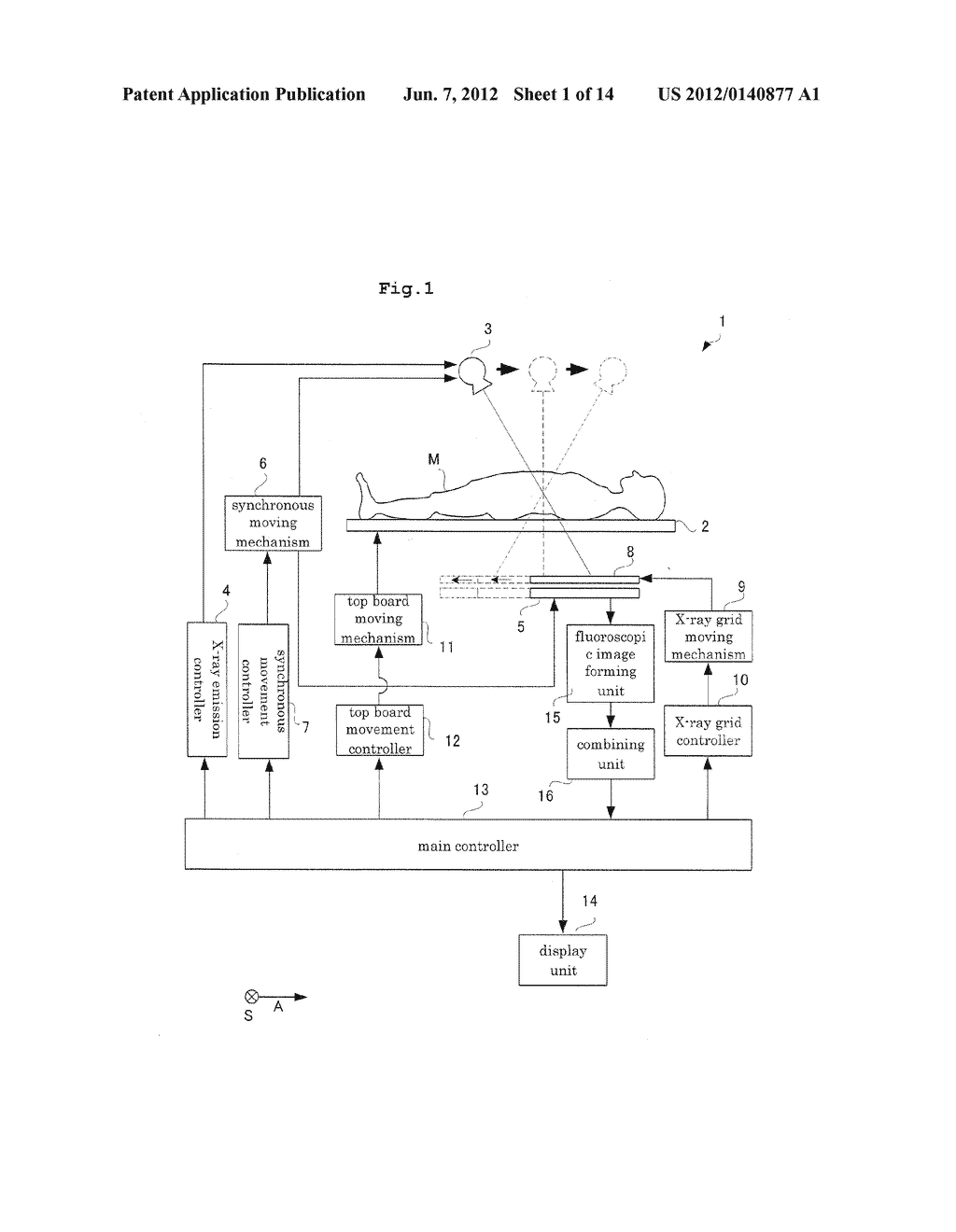BODY SECTION RADIOGRAPHIC APPARATUS, AND A NOISE REMOVING METHOD FOR THE     BODY SECTION RADIOGRAPHIC APPARATUS - diagram, schematic, and image 02