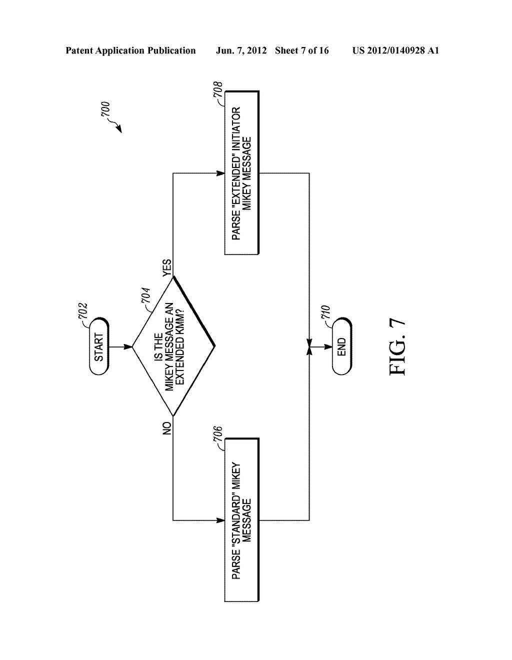 METHOD AND APPARATUS FOR EXTENDING A KEY-MANAGEMENT PROTOCOL - diagram, schematic, and image 08