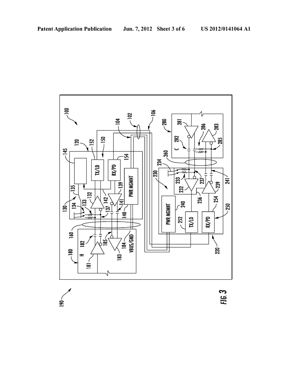 INTEGRATED CIRCUIT FOR FACILITATING OPTICAL COMMUNICATION BETWEEN     ELECTRONIC DEVICES - diagram, schematic, and image 04