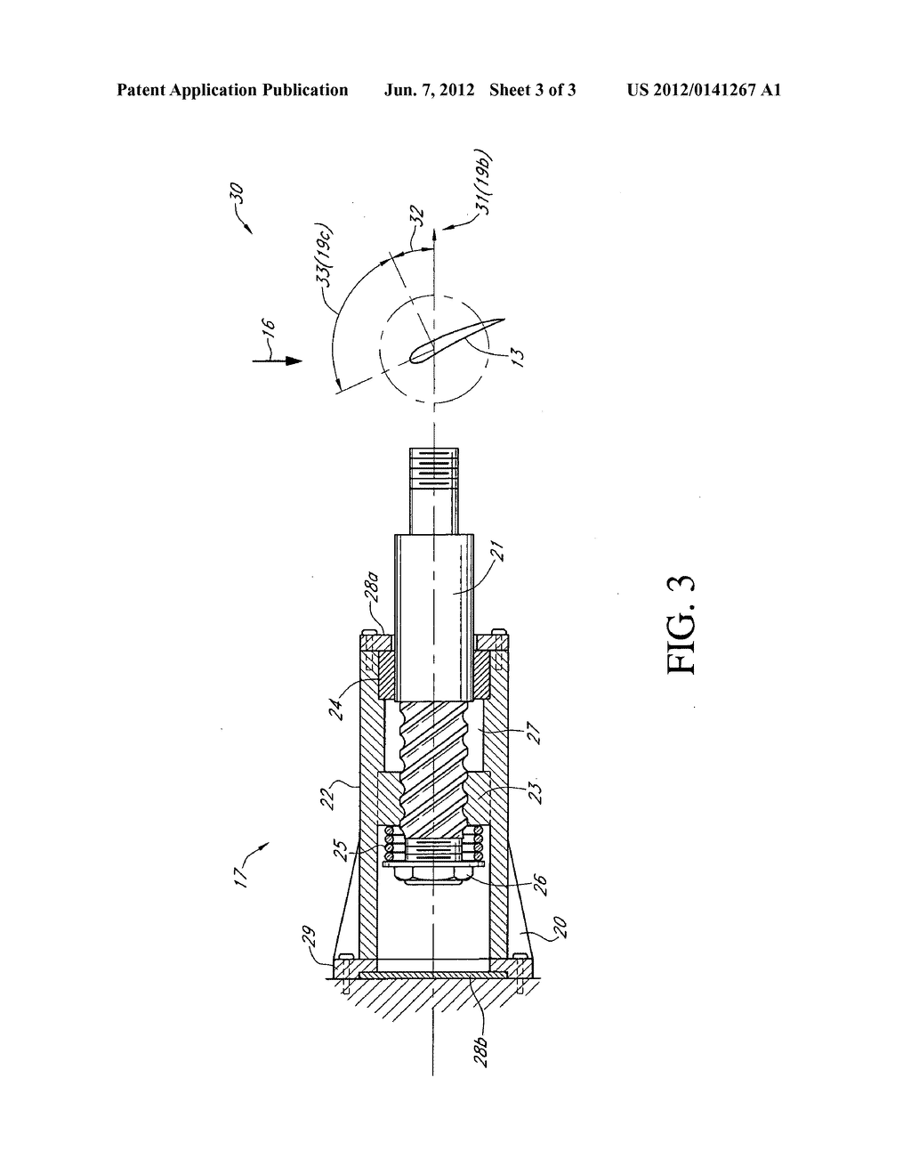 Wind Turbine Blade Automatic Pitch Control Using Centrifugal Force Diagram Schematic And Image 04