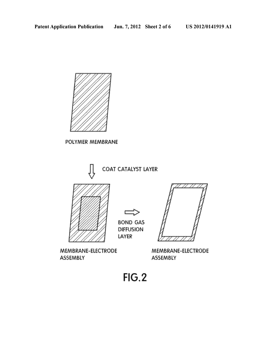 FUEL CELL ELECTRODE AND METHOD FOR MANUFACTURING MEMBRANE-ELECTRODE     ASSEMBLY USING THE SAME - diagram, schematic, and image 03