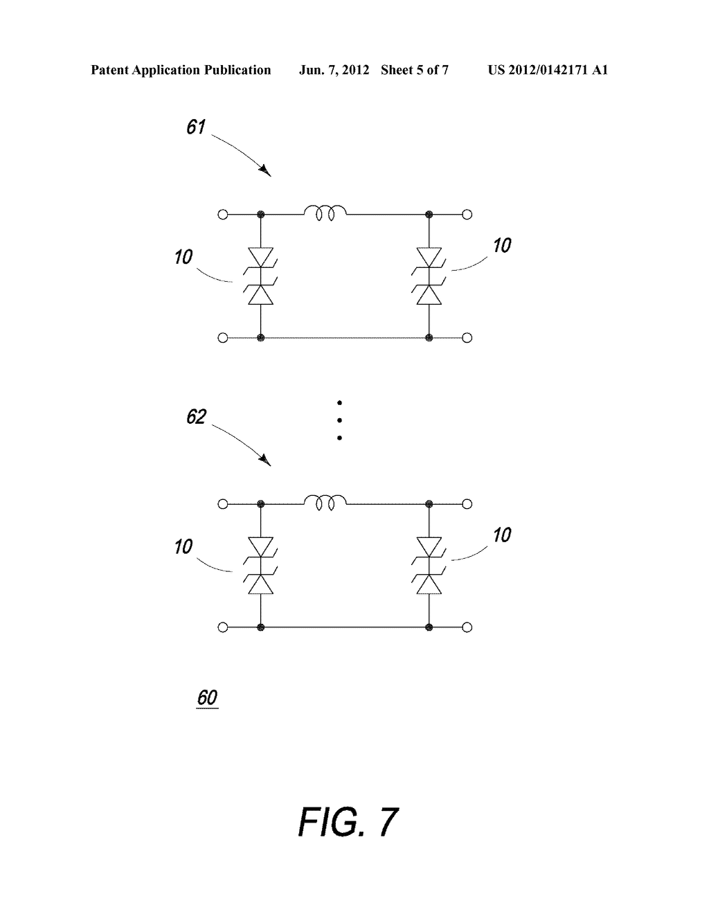 METHOD OF FORMING A HIGH CAPACITANCE DIODE - diagram, schematic, and image 06