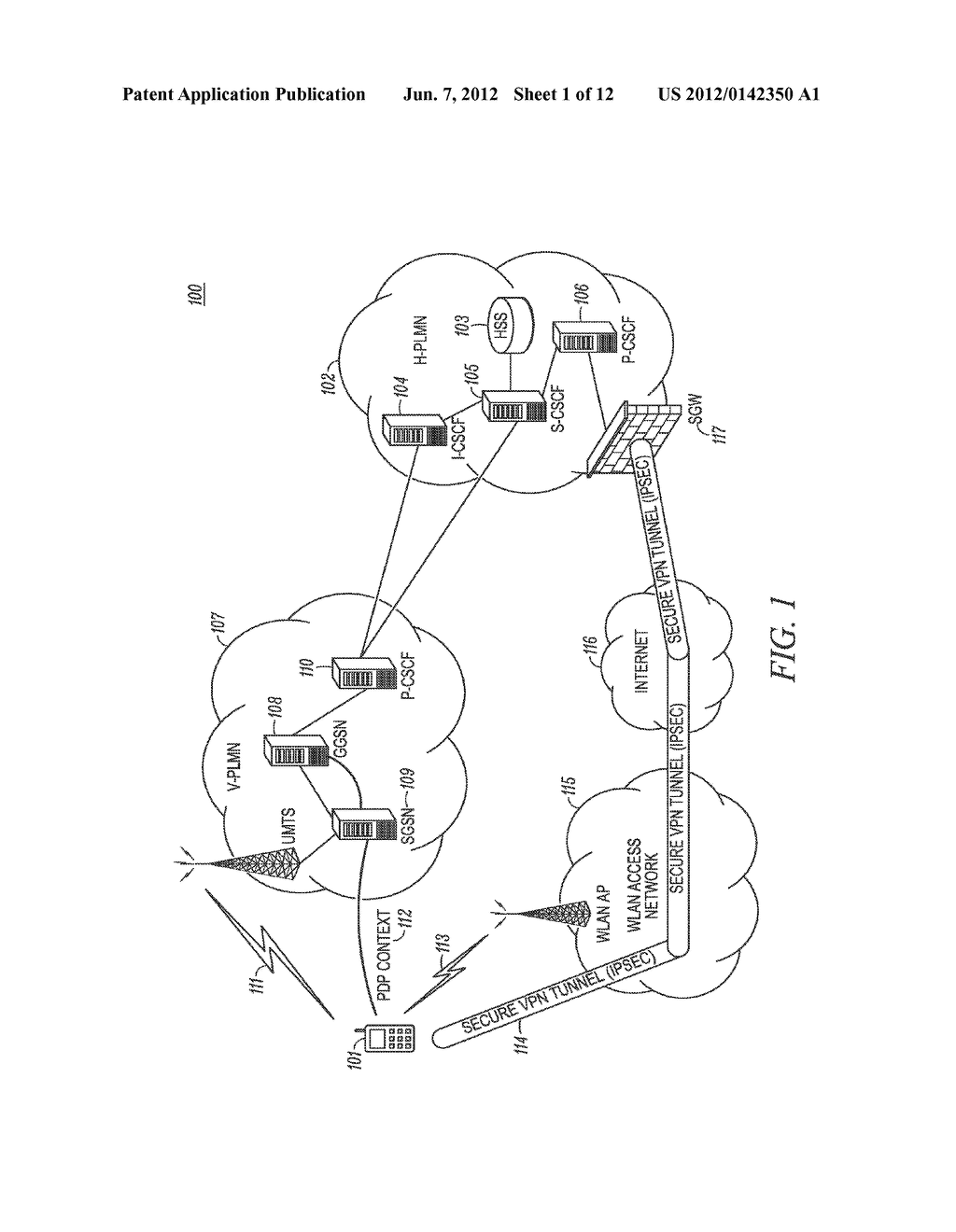 METHOD AND APPARATUS FOR MANAGEMENT OF INACTIVE CONNECTIONS FOR SERVICE     CONTINUITY IN AN AGNOSTIC INTERNET PROTCOL MULTIMEDIA COMMUNICATION     SYSTEM - diagram, schematic, and image 02