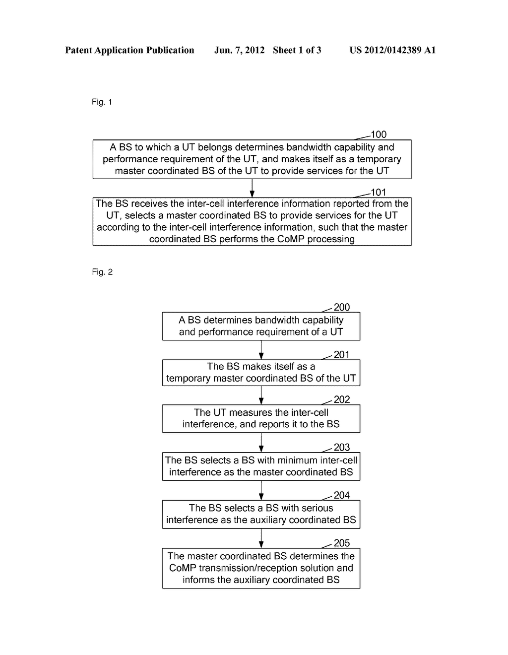 Method And Apparatus For Coordinated Multi-Point Processing - diagram, schematic, and image 02