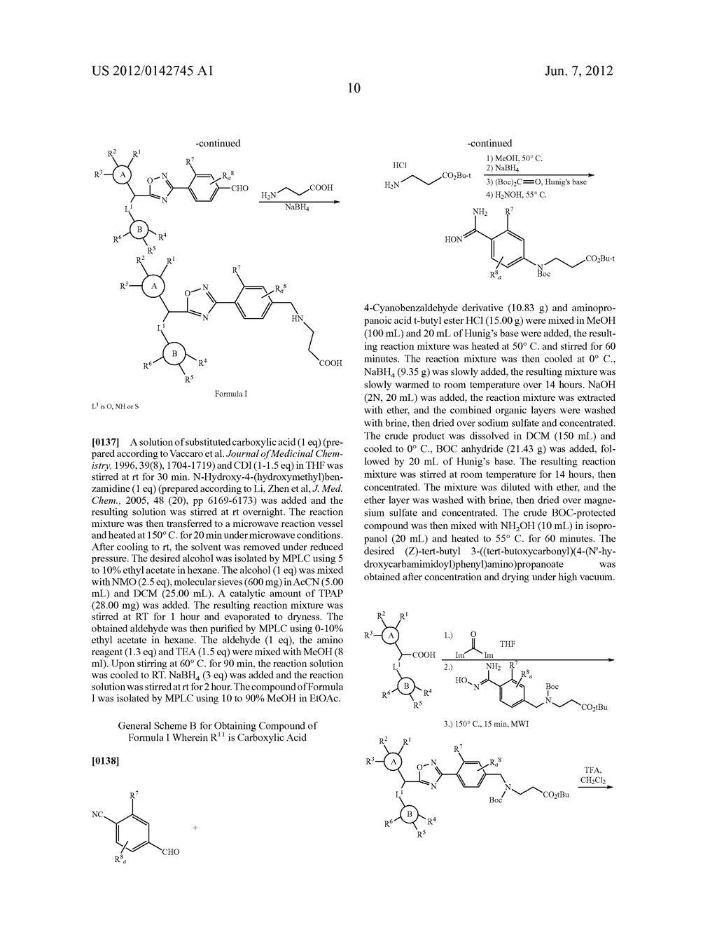 NOVEL PHENYL OXADIAZOLE DERIVATIVES AS SPHINGOSINE 1-PHOSPHATE (S1P)     RECEPTOR MODULATORS - diagram, schematic, and image 11