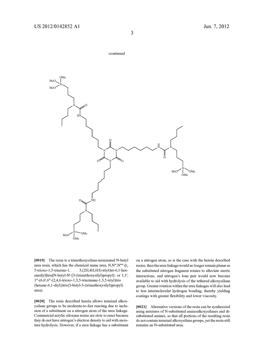 Single-Component Coating Having Alkoxysilane-Terminated N-Substituted Urea     Resins - diagram, schematic, and image 04