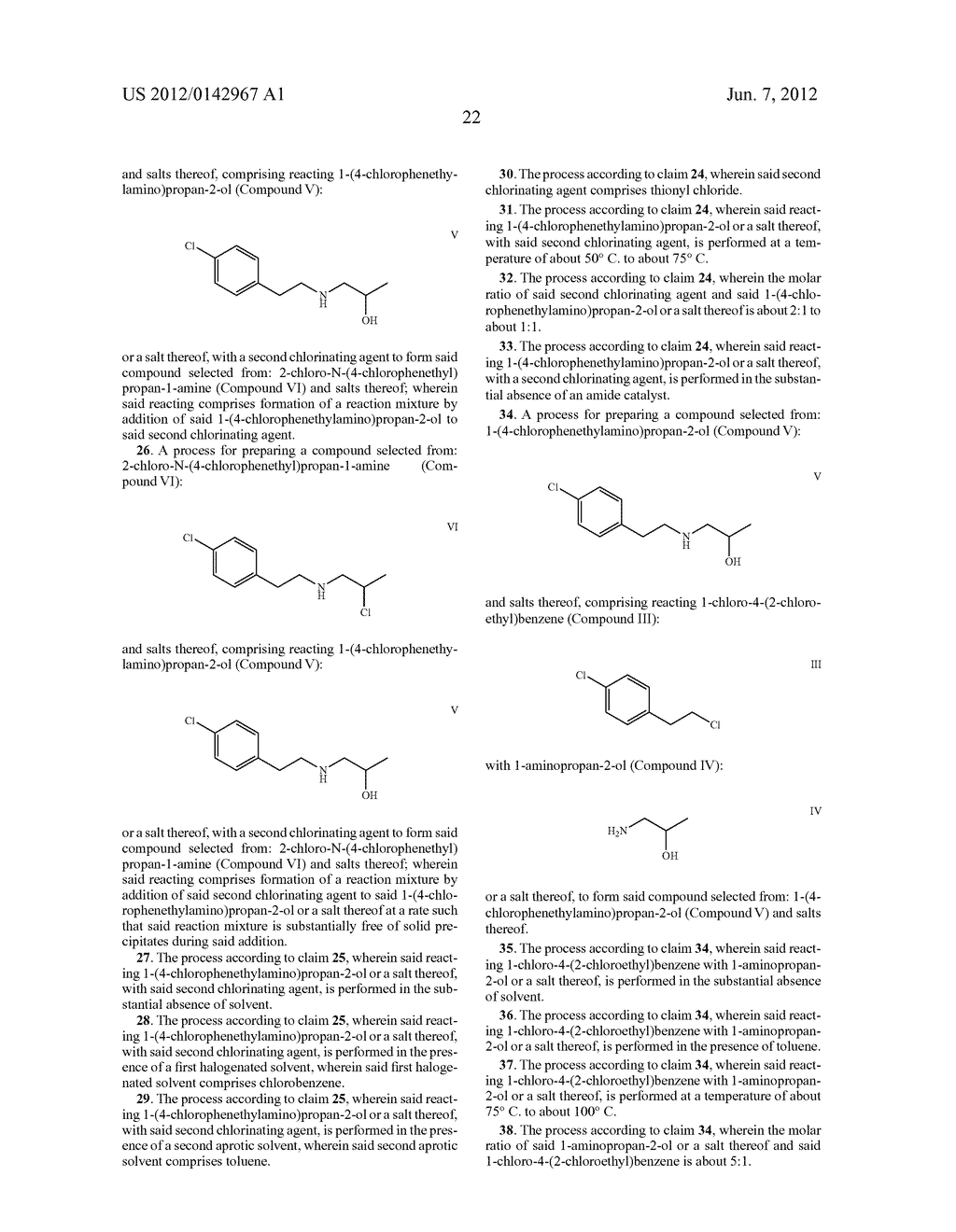 PROCESSES FOR THE PREPARATION OF 5-HT2C RECEPTOR AGONISTS - diagram, schematic, and image 25