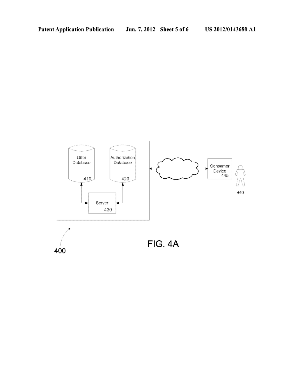 SYSTEM AND METHOD FOR DELIVERING AN AUTHORIZED IN-STORE PROMOTION TO A     CONSUMER - diagram, schematic, and image 06