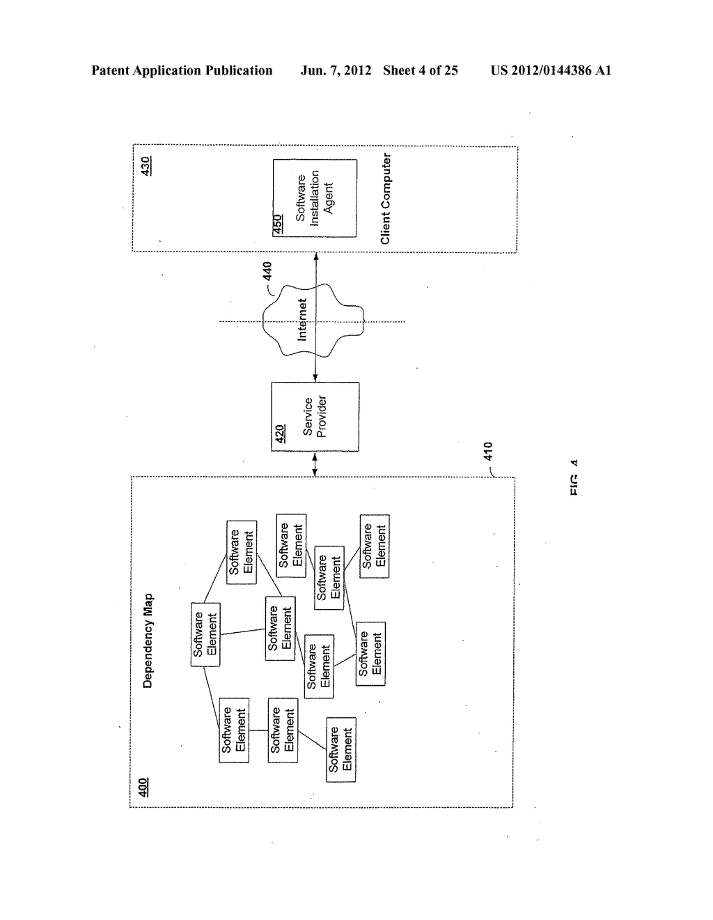 APPARATUS AND METHOD FOR MONITORING SOFTWARE INSTALLATION PERFORMANCE - diagram, schematic, and image 05
