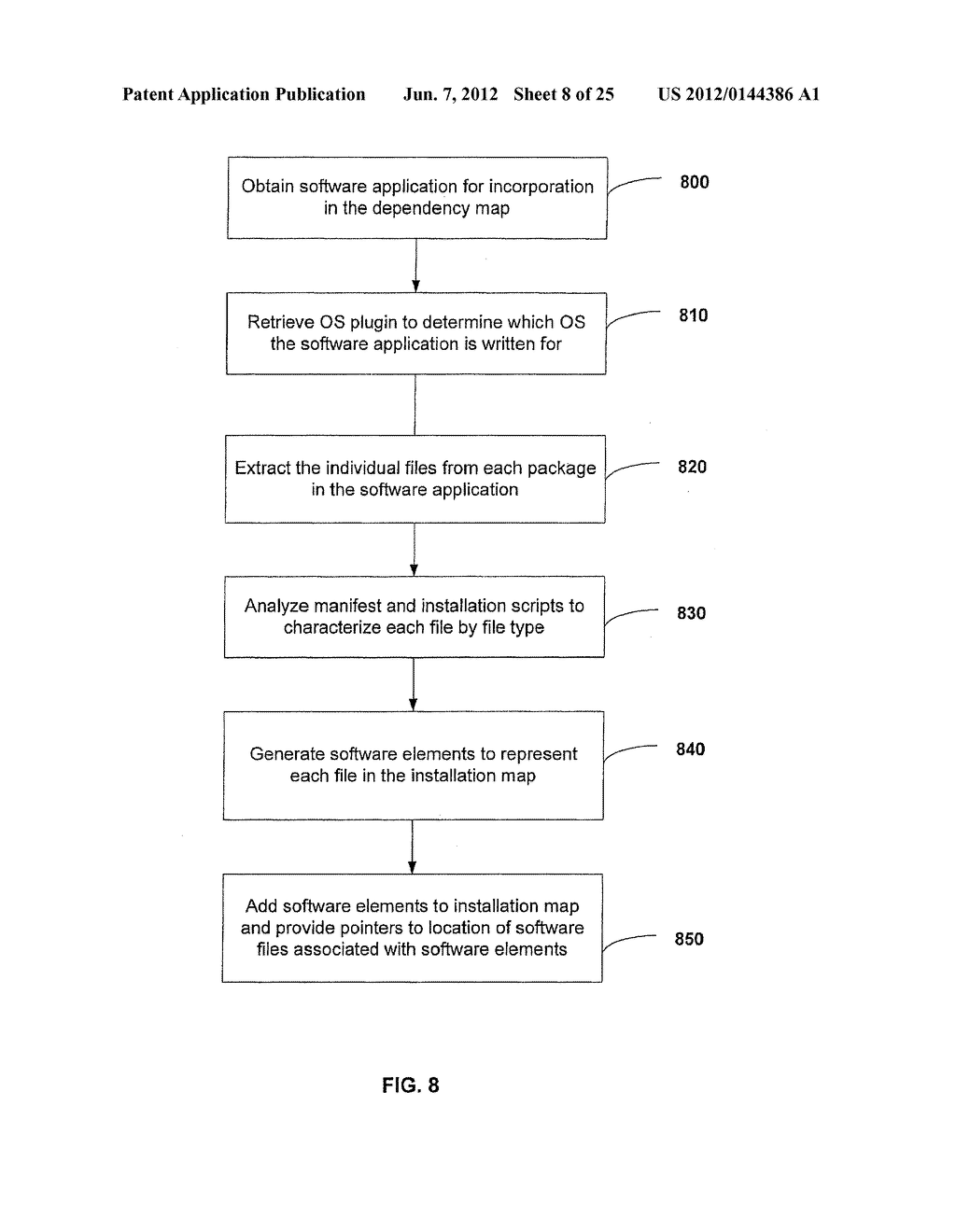 APPARATUS AND METHOD FOR MONITORING SOFTWARE INSTALLATION PERFORMANCE - diagram, schematic, and image 09