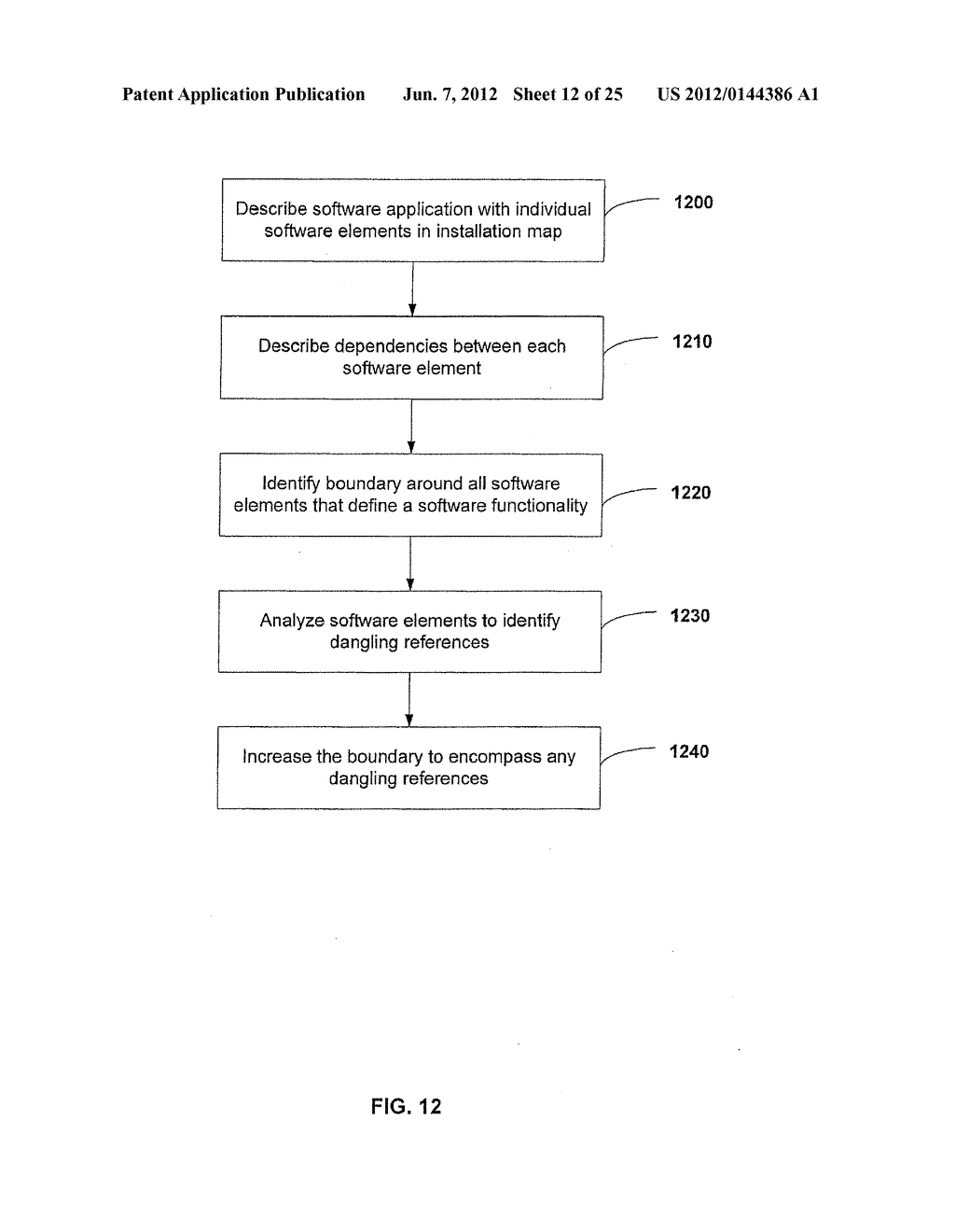 APPARATUS AND METHOD FOR MONITORING SOFTWARE INSTALLATION PERFORMANCE - diagram, schematic, and image 13