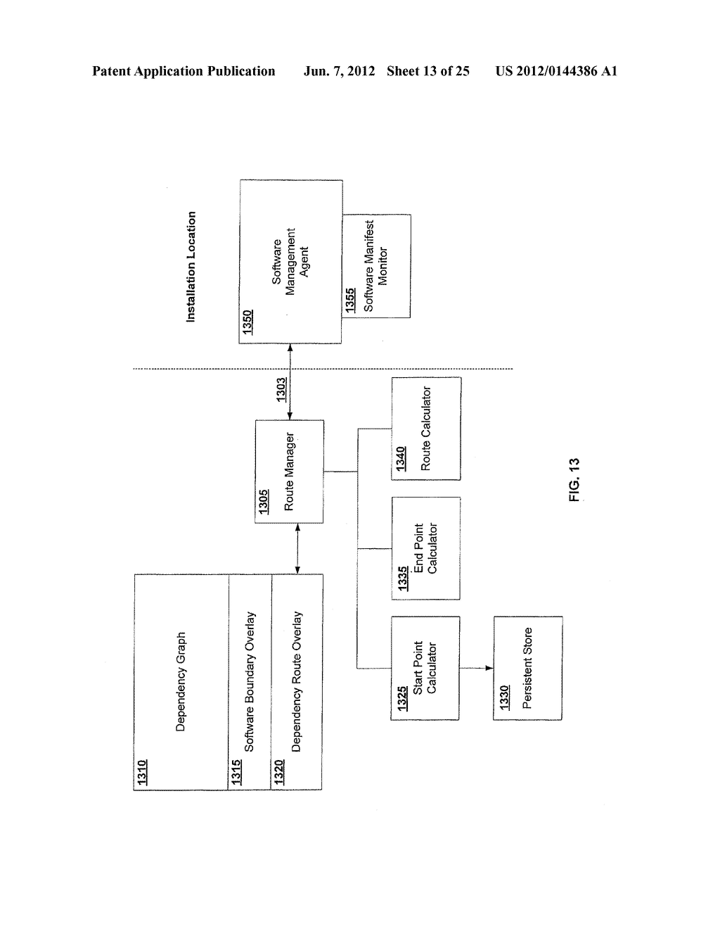 APPARATUS AND METHOD FOR MONITORING SOFTWARE INSTALLATION PERFORMANCE - diagram, schematic, and image 14