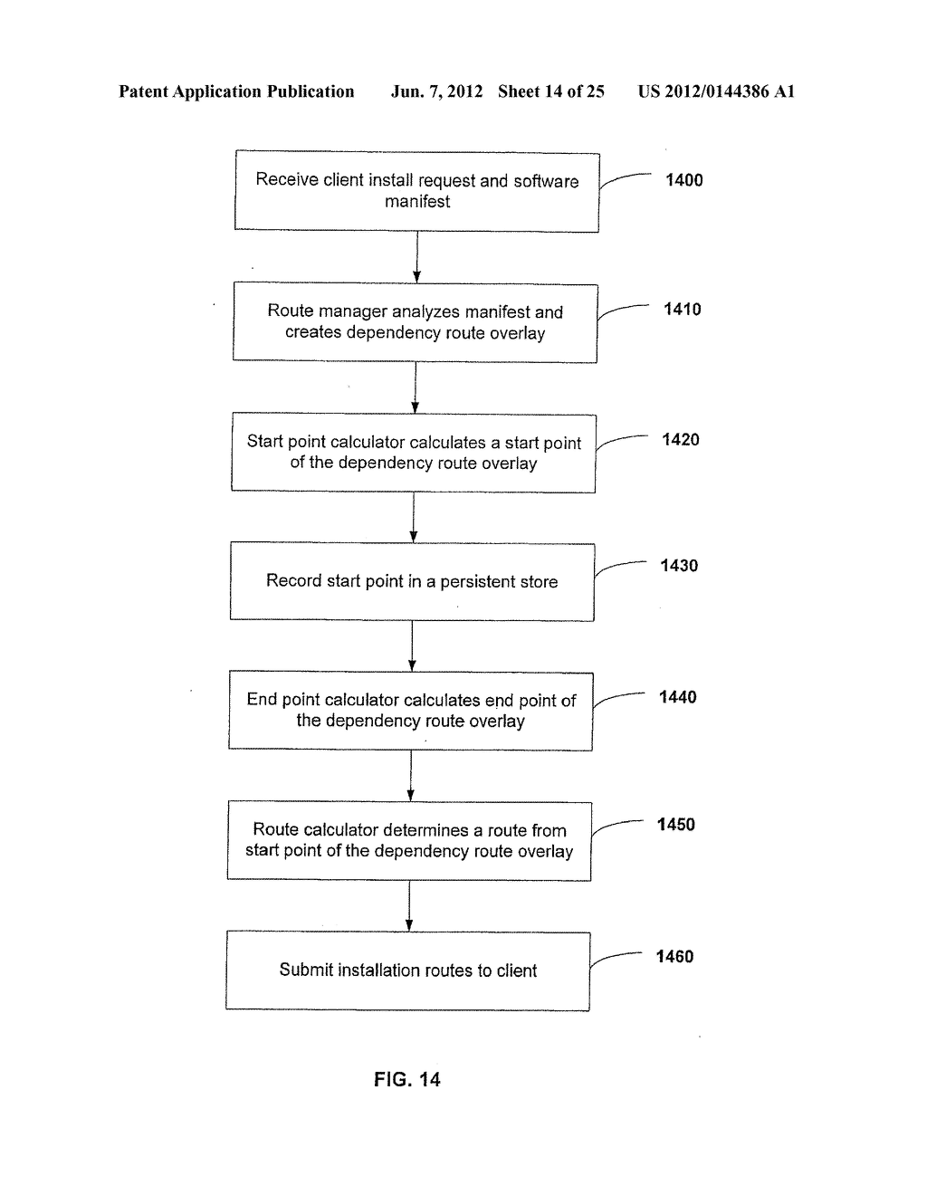 APPARATUS AND METHOD FOR MONITORING SOFTWARE INSTALLATION PERFORMANCE - diagram, schematic, and image 15