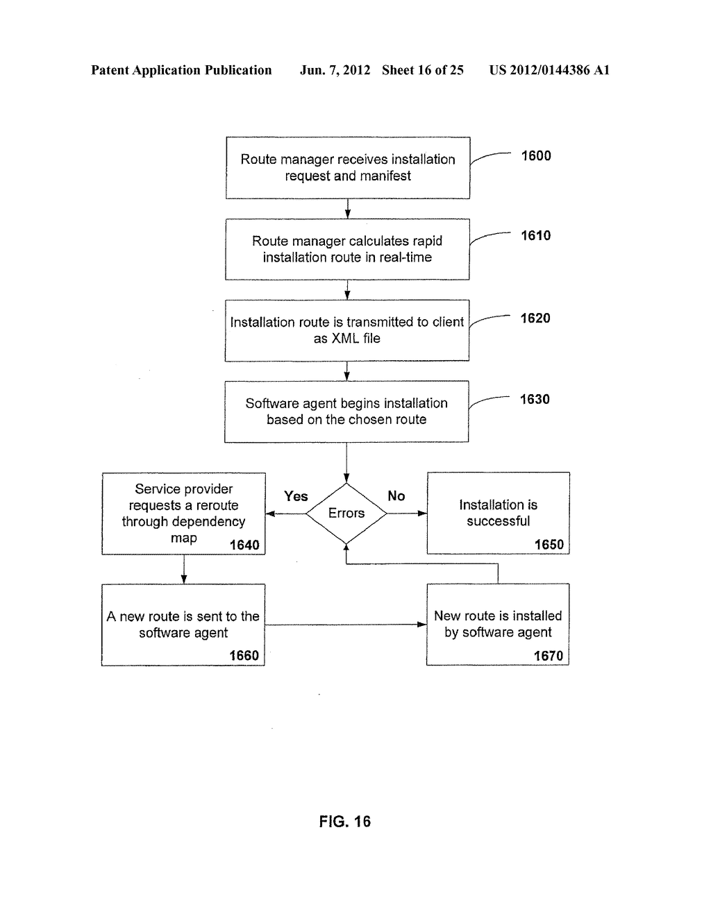APPARATUS AND METHOD FOR MONITORING SOFTWARE INSTALLATION PERFORMANCE - diagram, schematic, and image 17