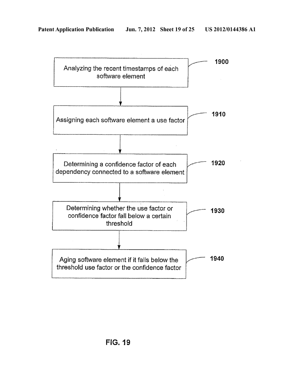 APPARATUS AND METHOD FOR MONITORING SOFTWARE INSTALLATION PERFORMANCE - diagram, schematic, and image 20