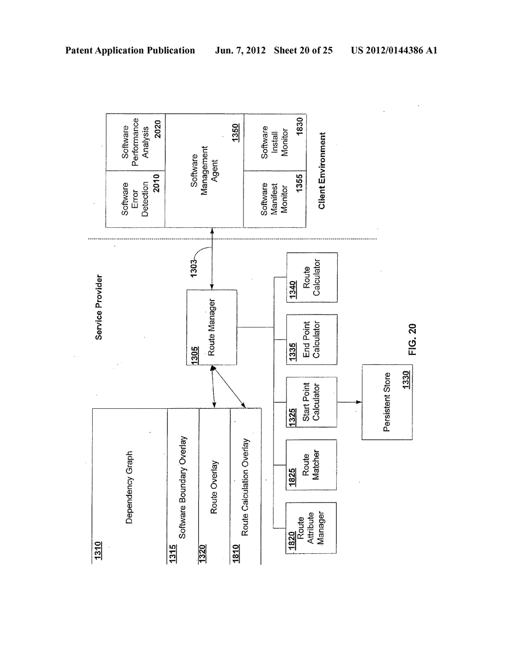 APPARATUS AND METHOD FOR MONITORING SOFTWARE INSTALLATION PERFORMANCE - diagram, schematic, and image 21