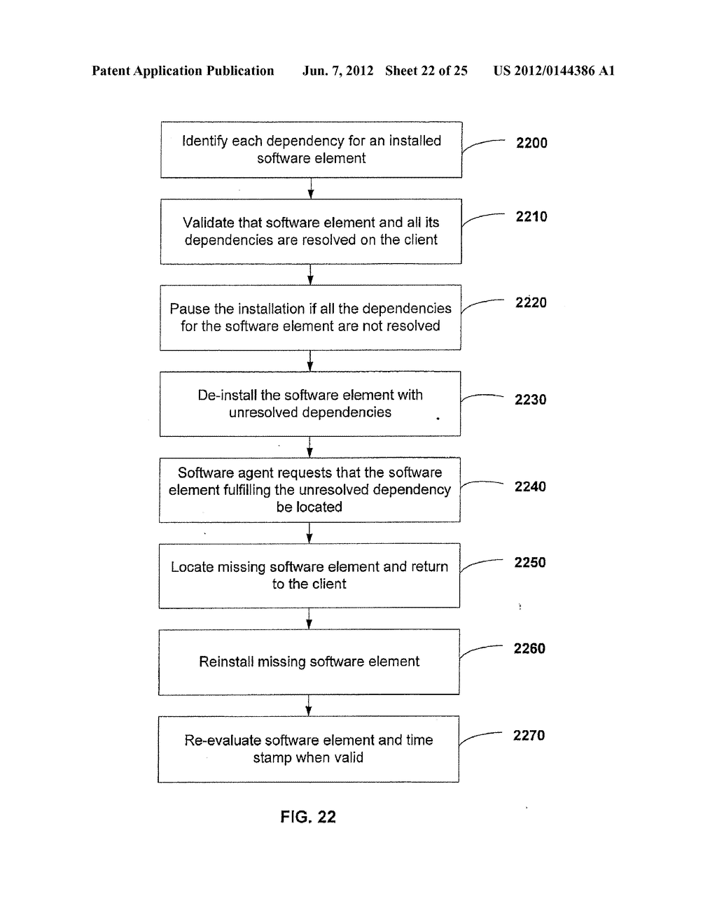 APPARATUS AND METHOD FOR MONITORING SOFTWARE INSTALLATION PERFORMANCE - diagram, schematic, and image 23