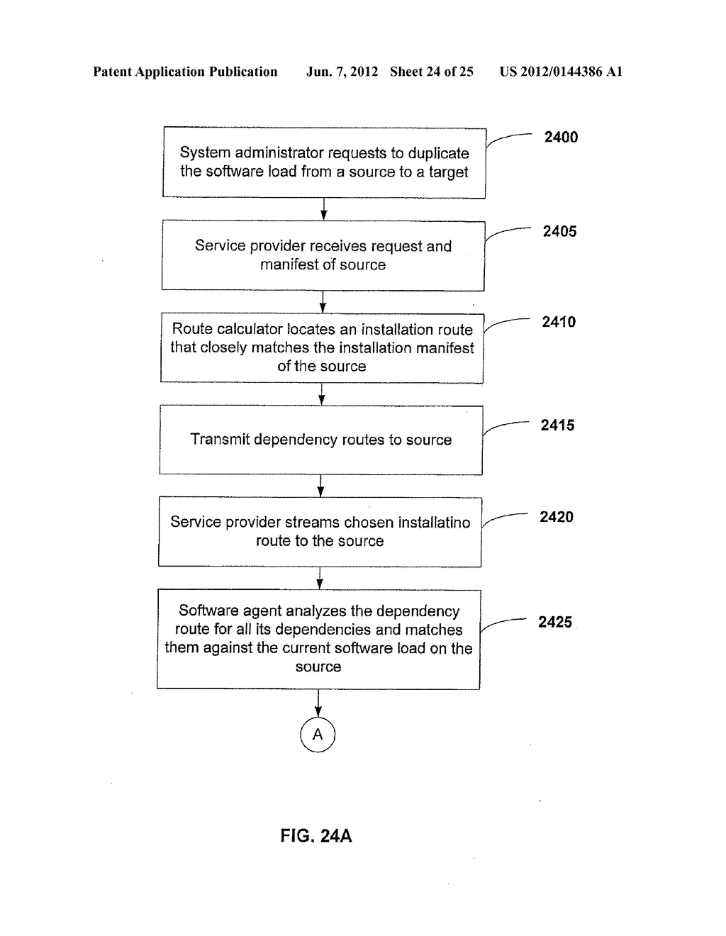APPARATUS AND METHOD FOR MONITORING SOFTWARE INSTALLATION PERFORMANCE - diagram, schematic, and image 25