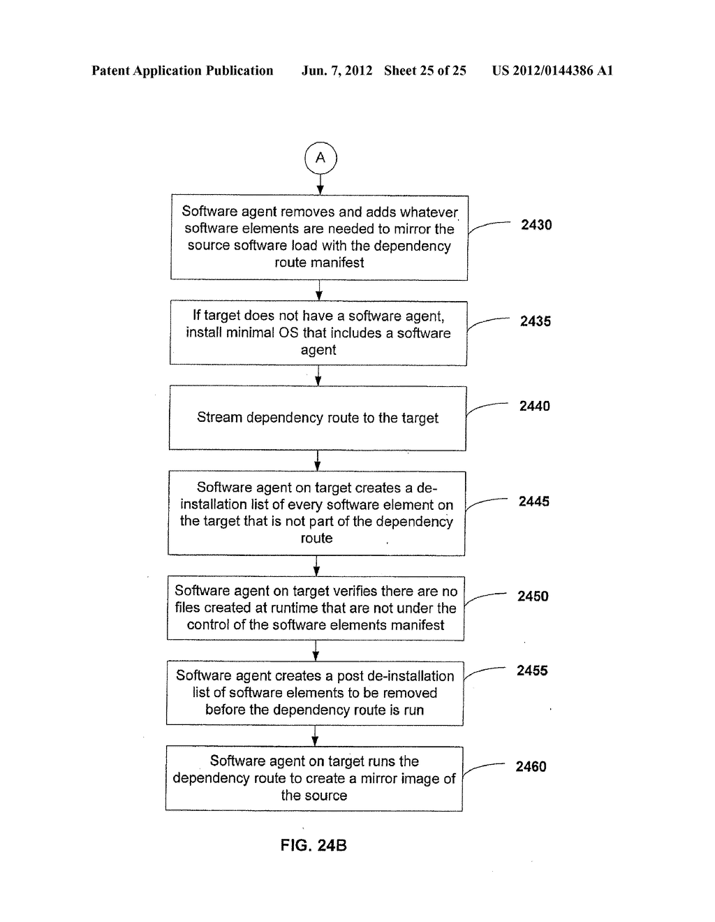 APPARATUS AND METHOD FOR MONITORING SOFTWARE INSTALLATION PERFORMANCE - diagram, schematic, and image 26