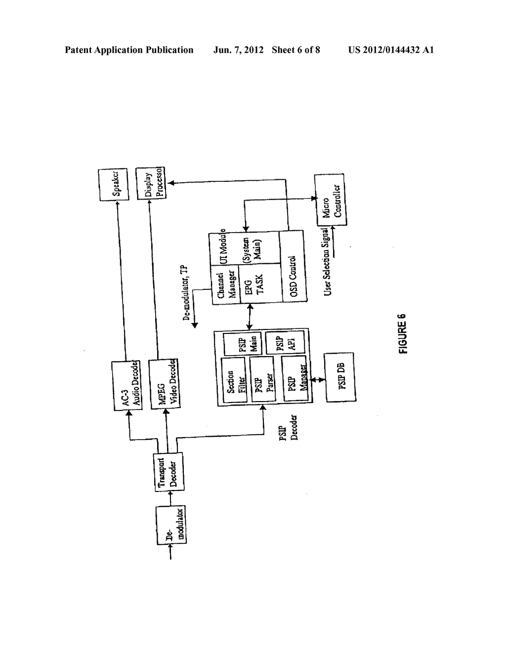 VIRTUAL CHANNEL TABLE FOR A BROADCAST PROTOCOL AND METHOD OF BRAODCASTING     AND RECEIVING BROADCAST SIGNALS USING THE SAME - diagram, schematic, and image 07