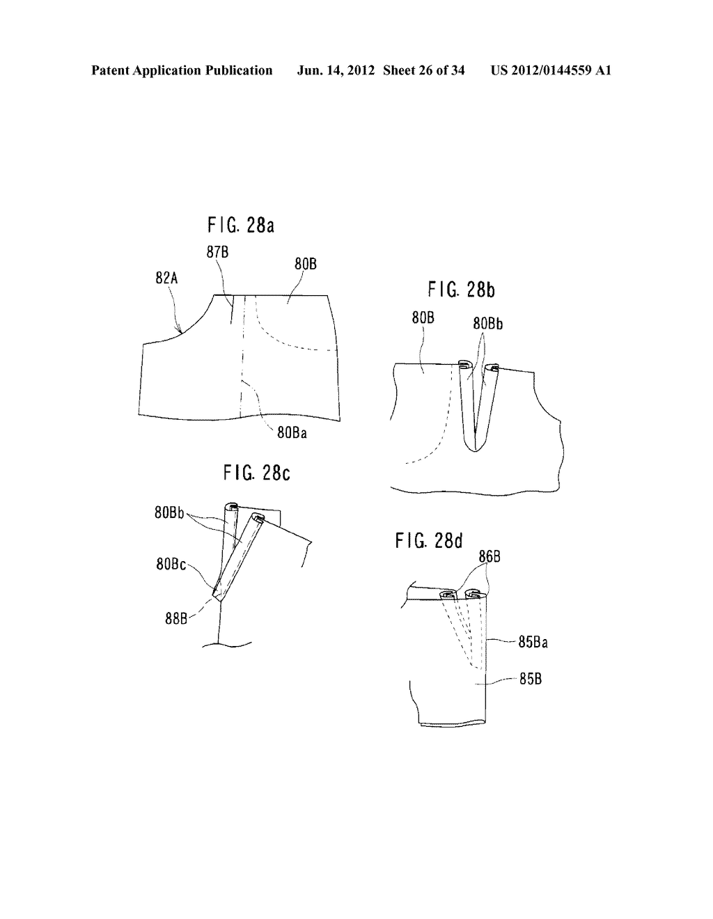 Pair of Pants with the L Pocket - diagram, schematic, and image 27