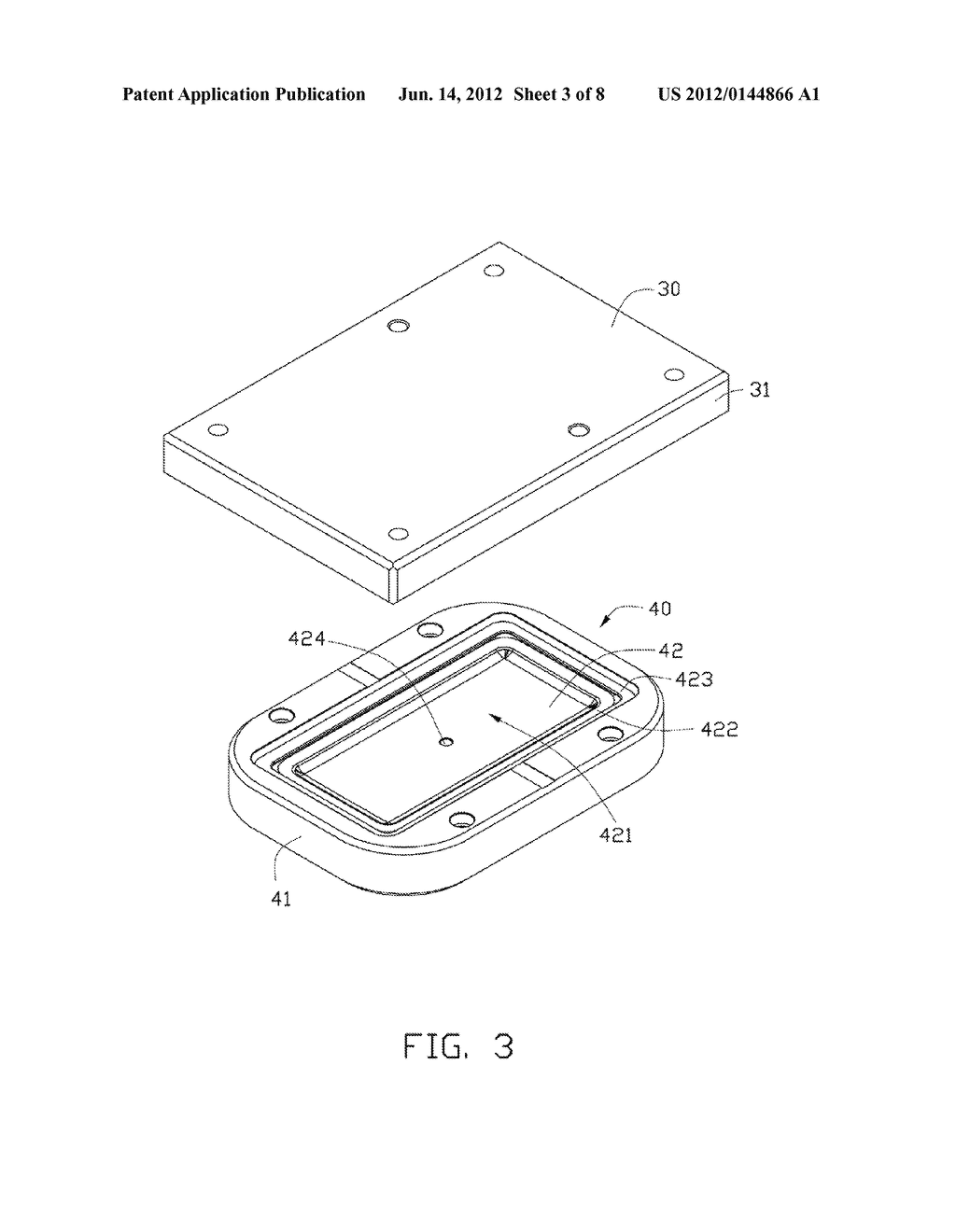 METHOD FOR MANUFACTURING CURVED GLASS SHEET AND MOLD EMPLOYED IN THE SAME - diagram, schematic, and image 04
