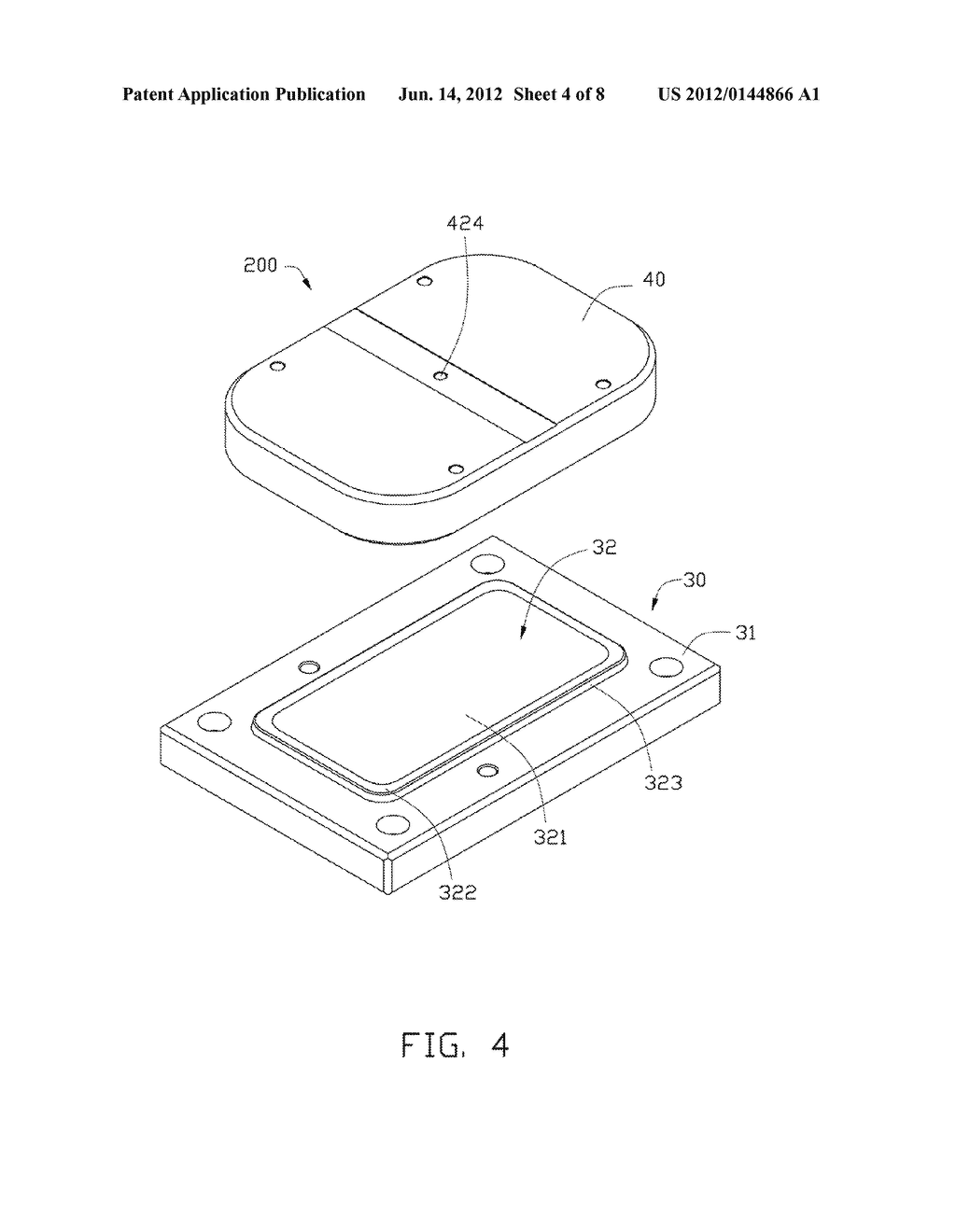METHOD FOR MANUFACTURING CURVED GLASS SHEET AND MOLD EMPLOYED IN THE SAME - diagram, schematic, and image 05