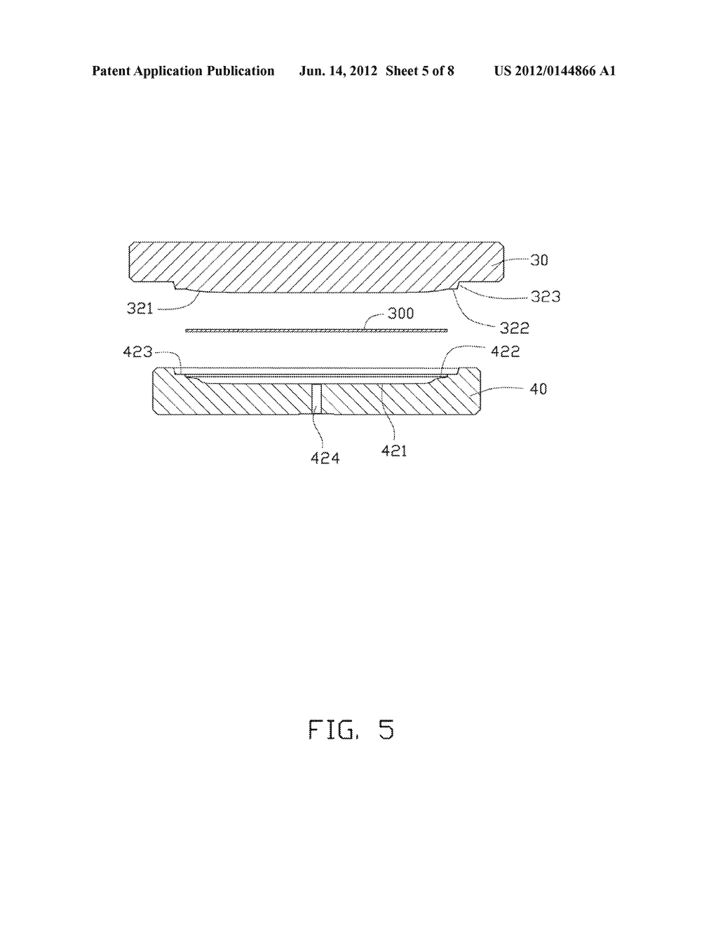 METHOD FOR MANUFACTURING CURVED GLASS SHEET AND MOLD EMPLOYED IN THE SAME - diagram, schematic, and image 06
