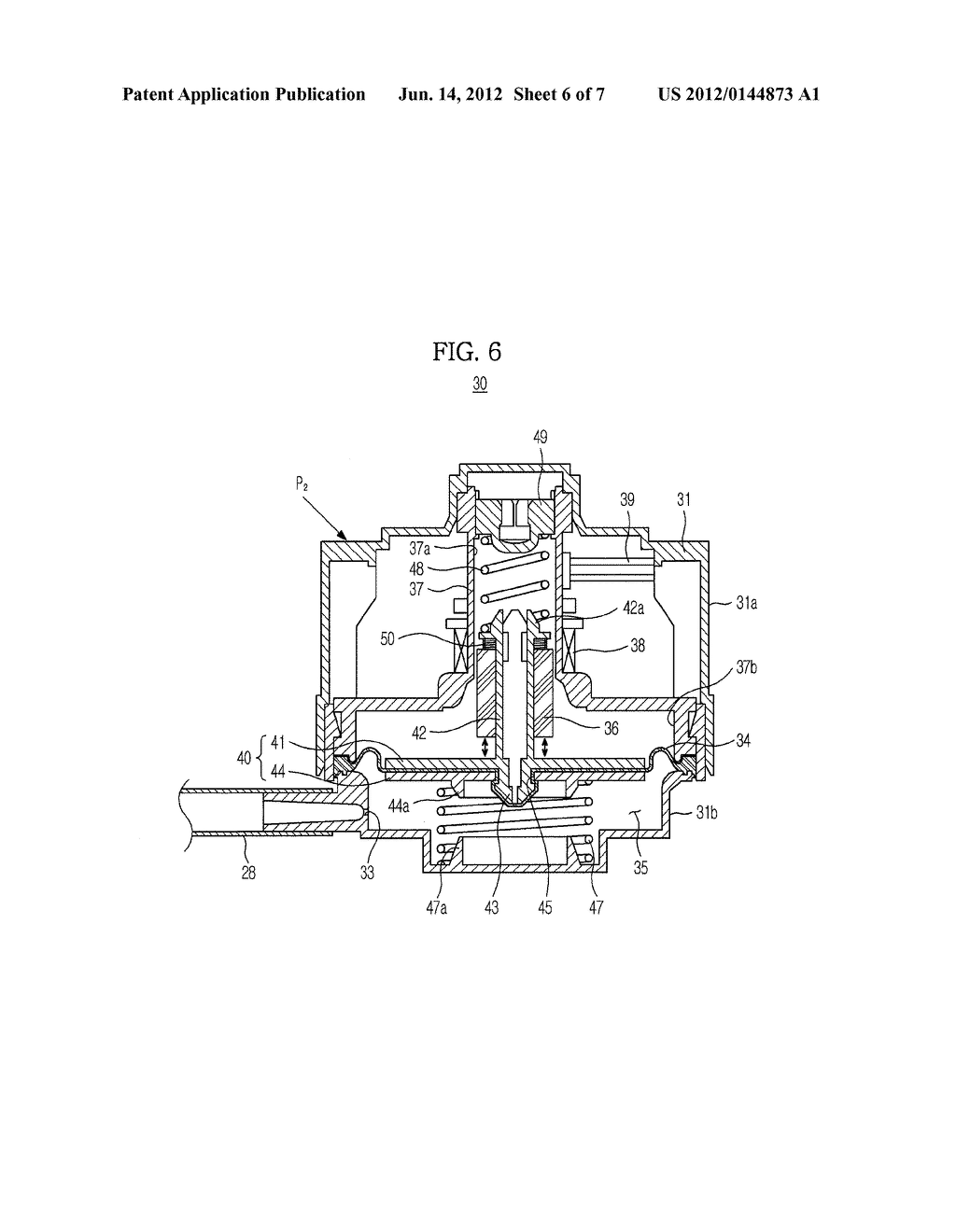 WATER LEVEL/VIBRATION DETECTION APPARATUS FOR WASHING MACHINE AND WASHING     MACHINE HAVING THE SAME - diagram, schematic, and image 07