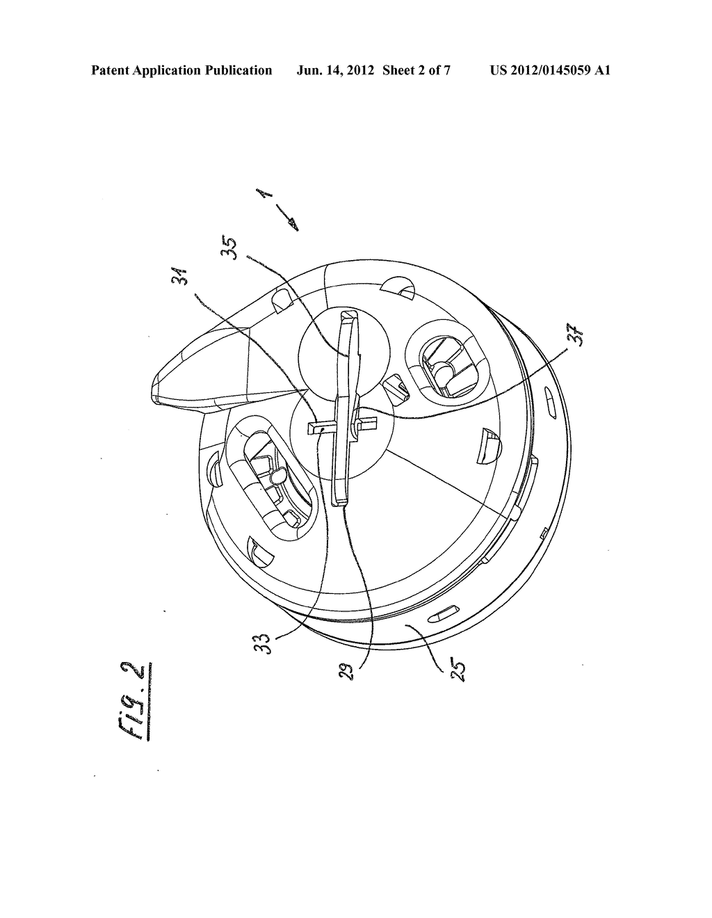 LOCKING MECHANISM FOR A BOBBIN CASE - diagram, schematic, and image 03