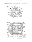 AXIAL-PISTON ENGINE, METHOD FOR OPERATING AN AXIAL-PISTON ENGINE, AND     METHOD FOR PRODUCING A HEAT EXCHANGER OF AN AXIAL-PISTON ENGINE diagram and image